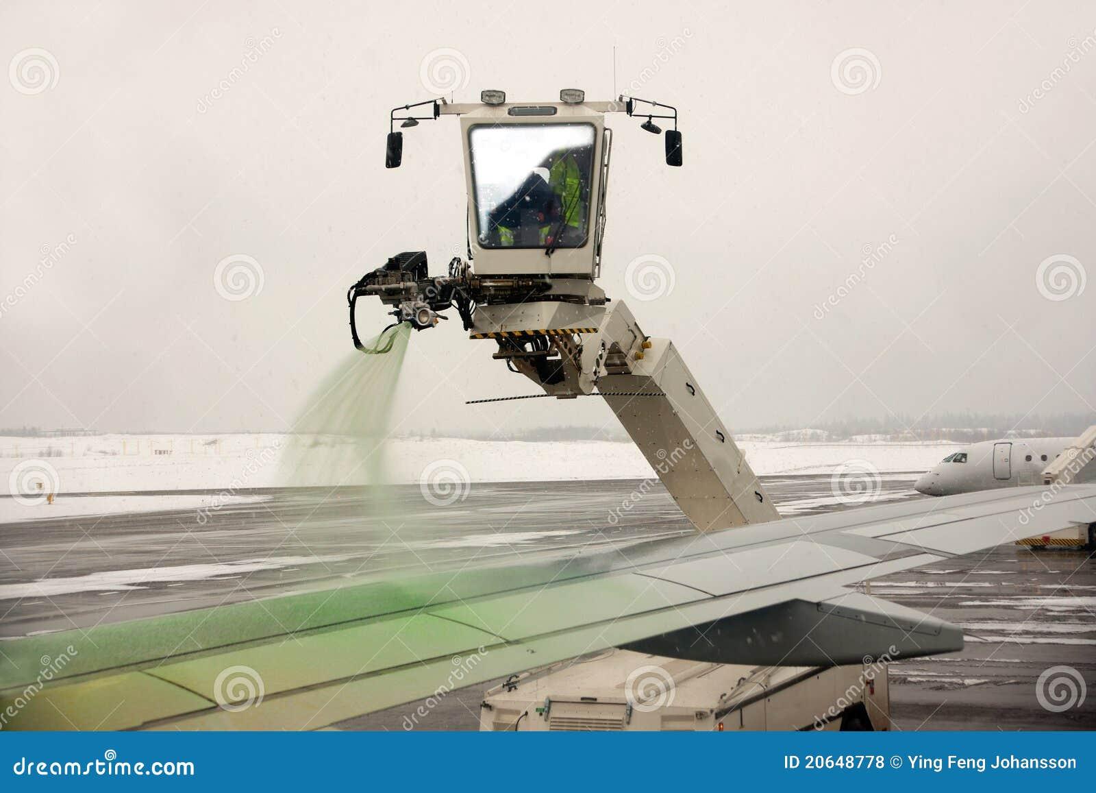 воздушное судно de замороженность