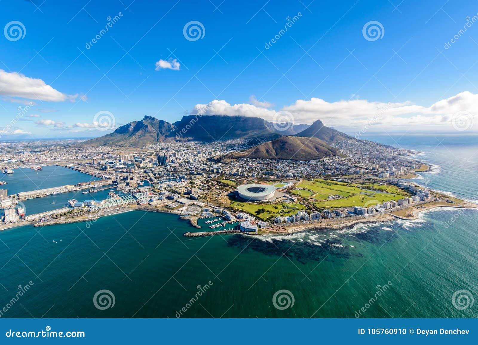 Воздушное фото Кейптауна 2