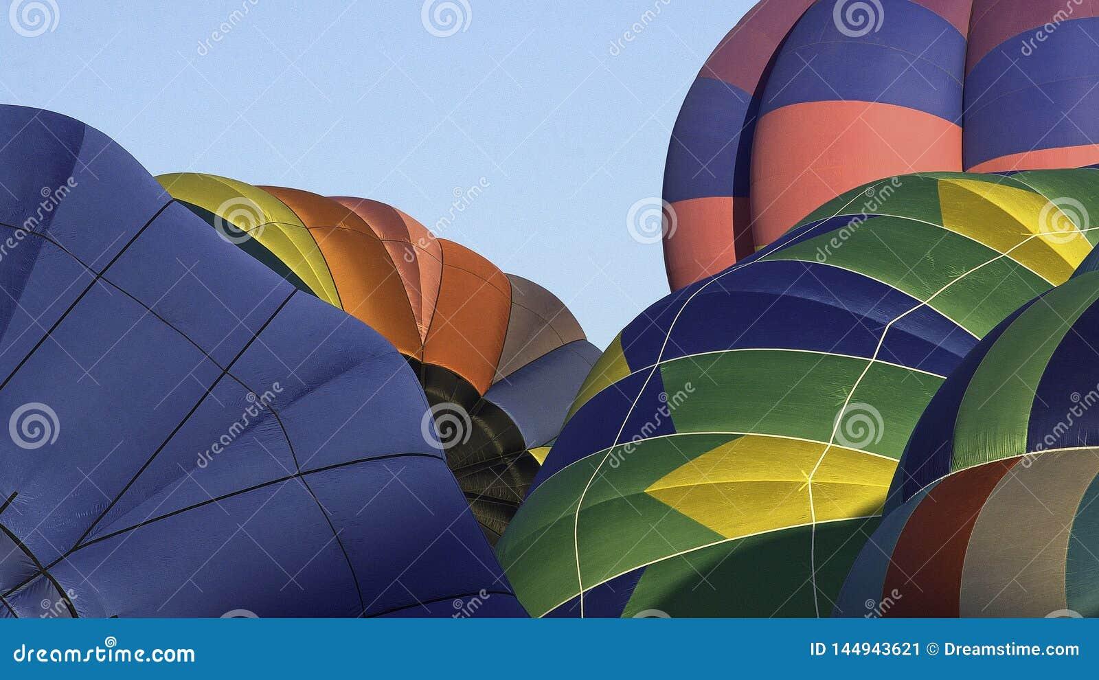 Воздушные шары на гонках воздушного шара Reno горячих