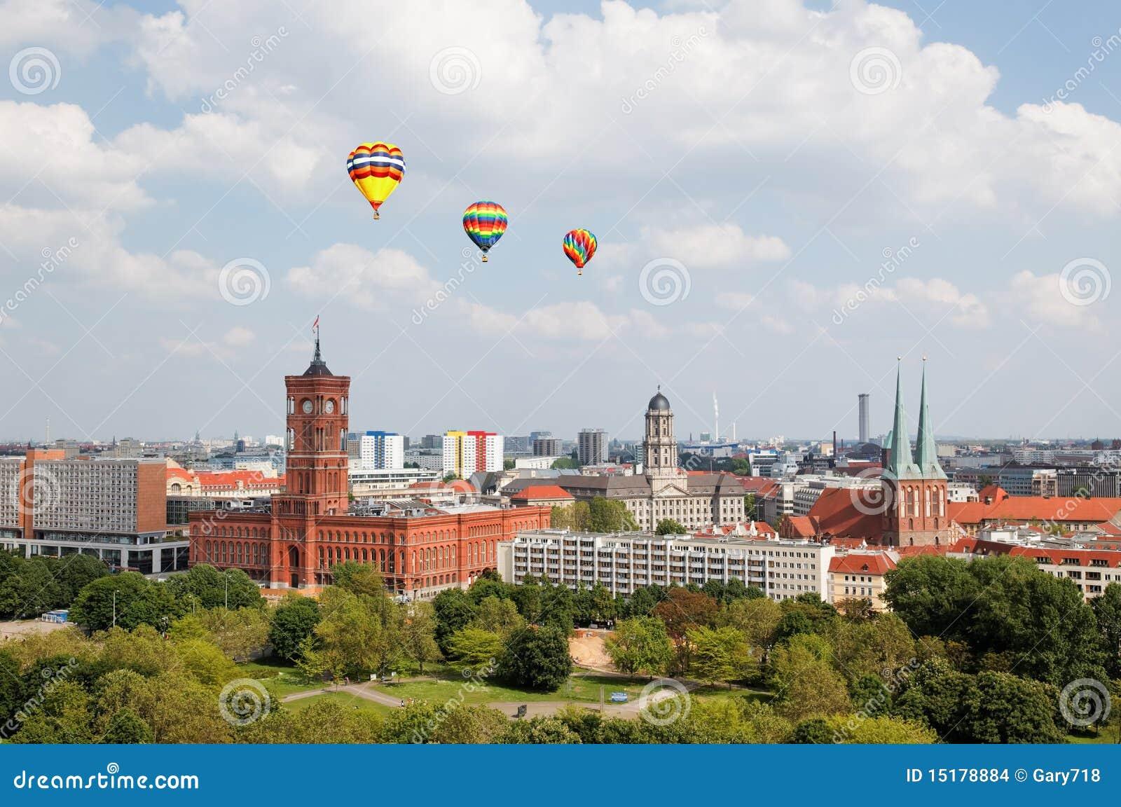 воздушный взгляд централи berlin