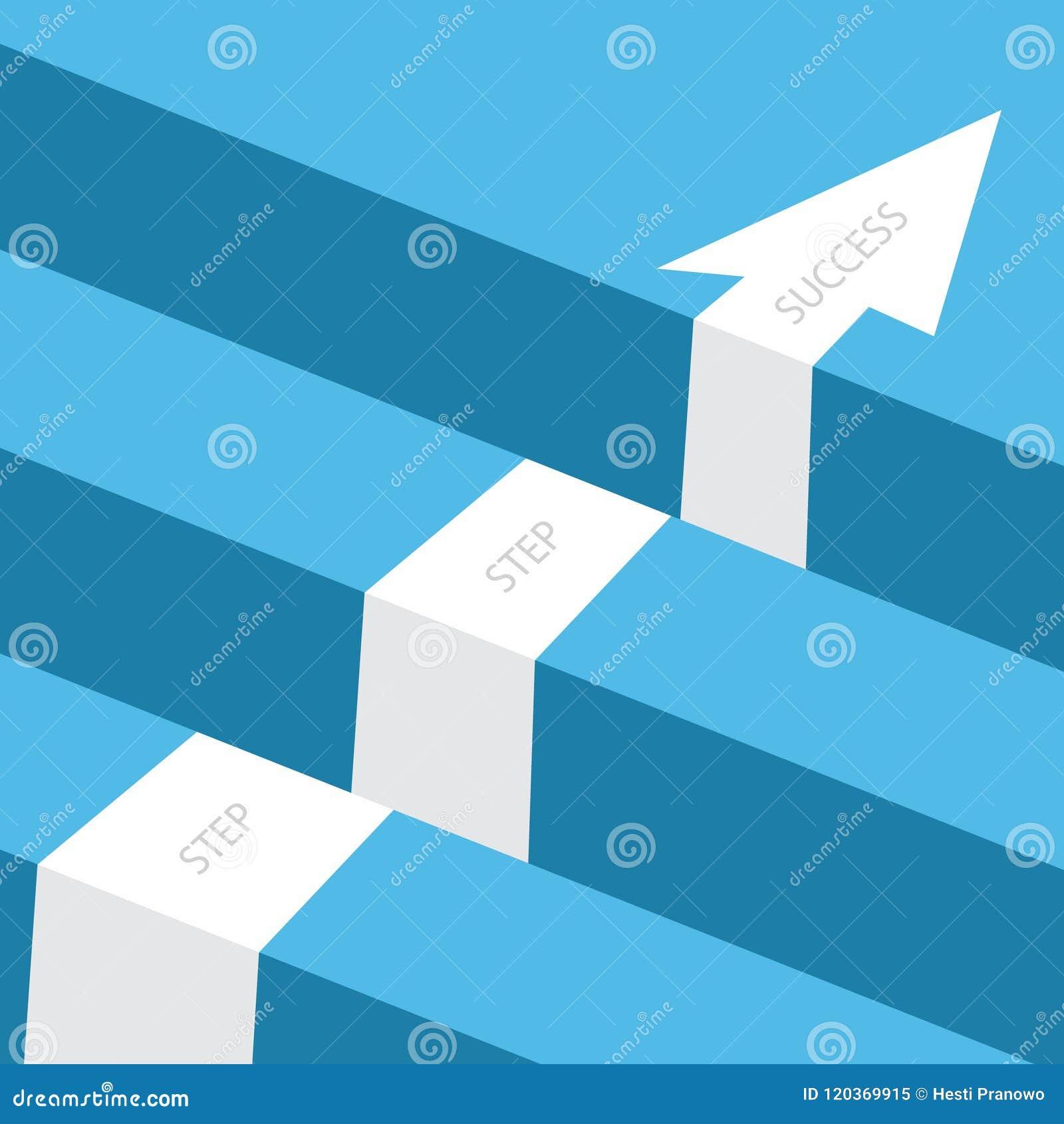 Возможность дела или дизайн концепции вектора препятствия