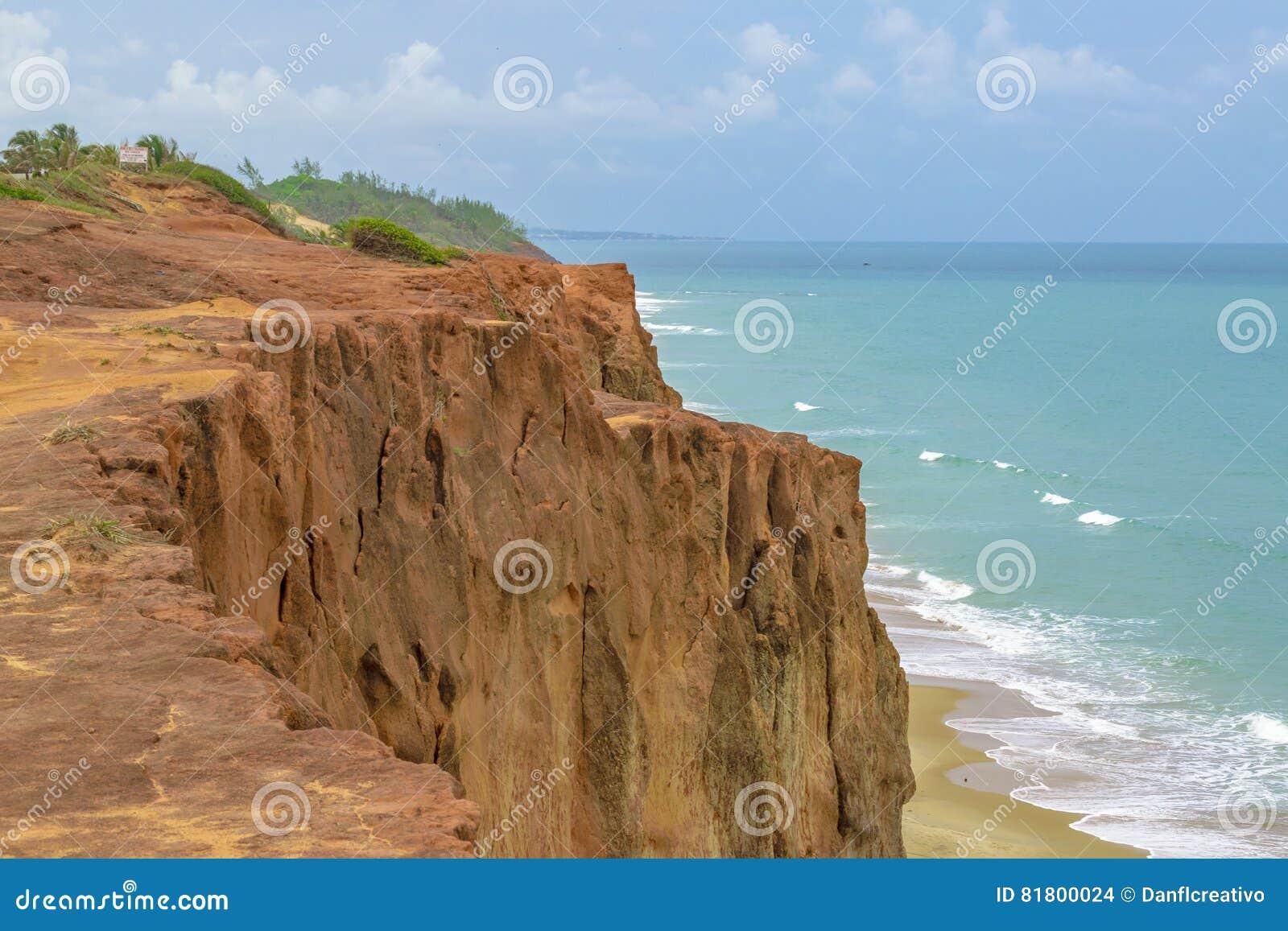 Воздушная пипа Бразилия сцены Seascape