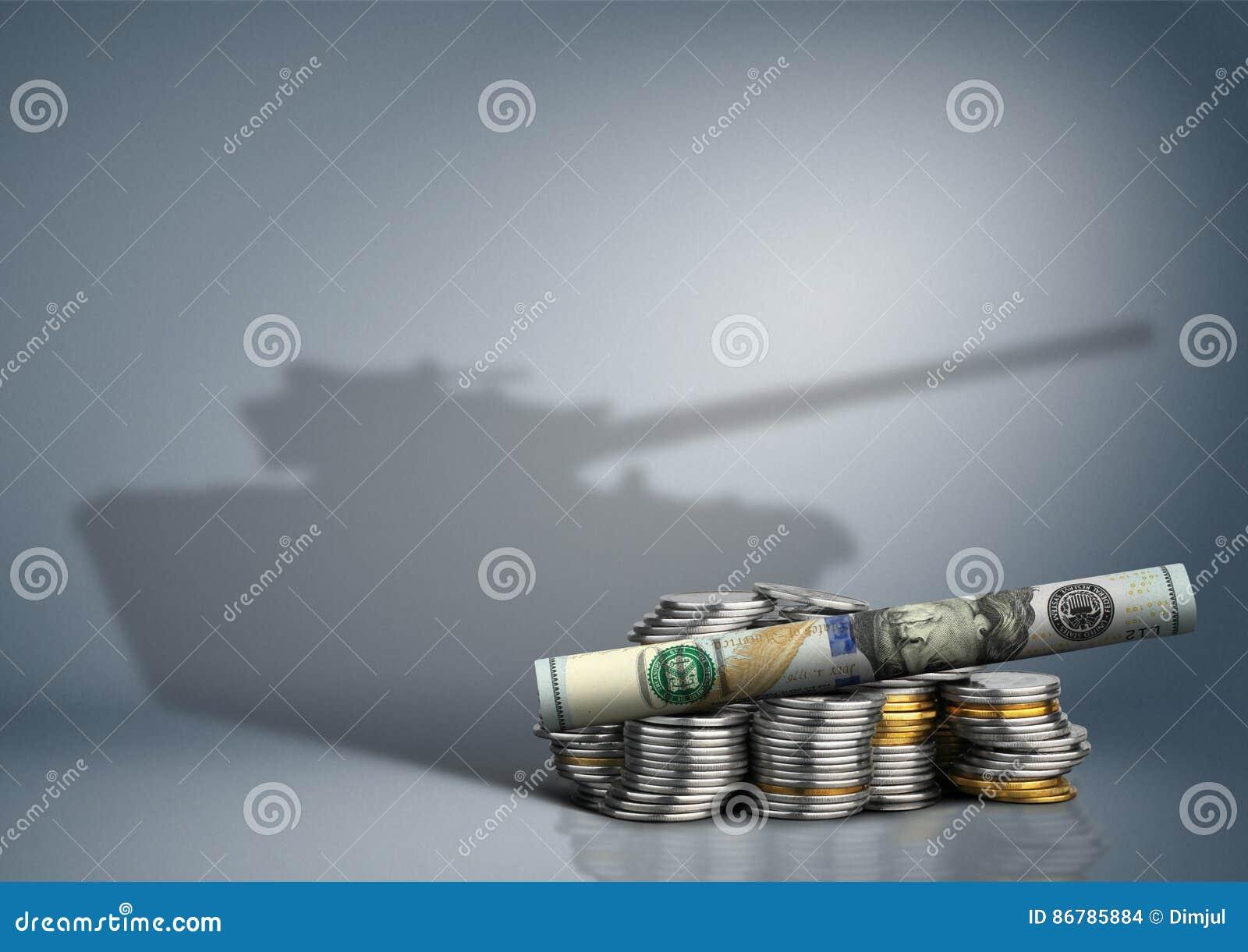 Воинская концепция бюджета, деньги с тенью оружия