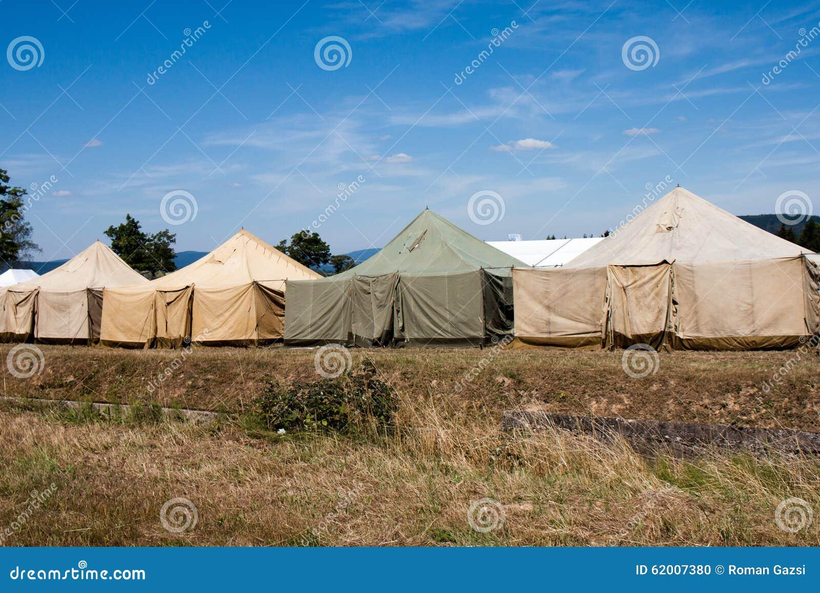 Воинский лагерь шатра