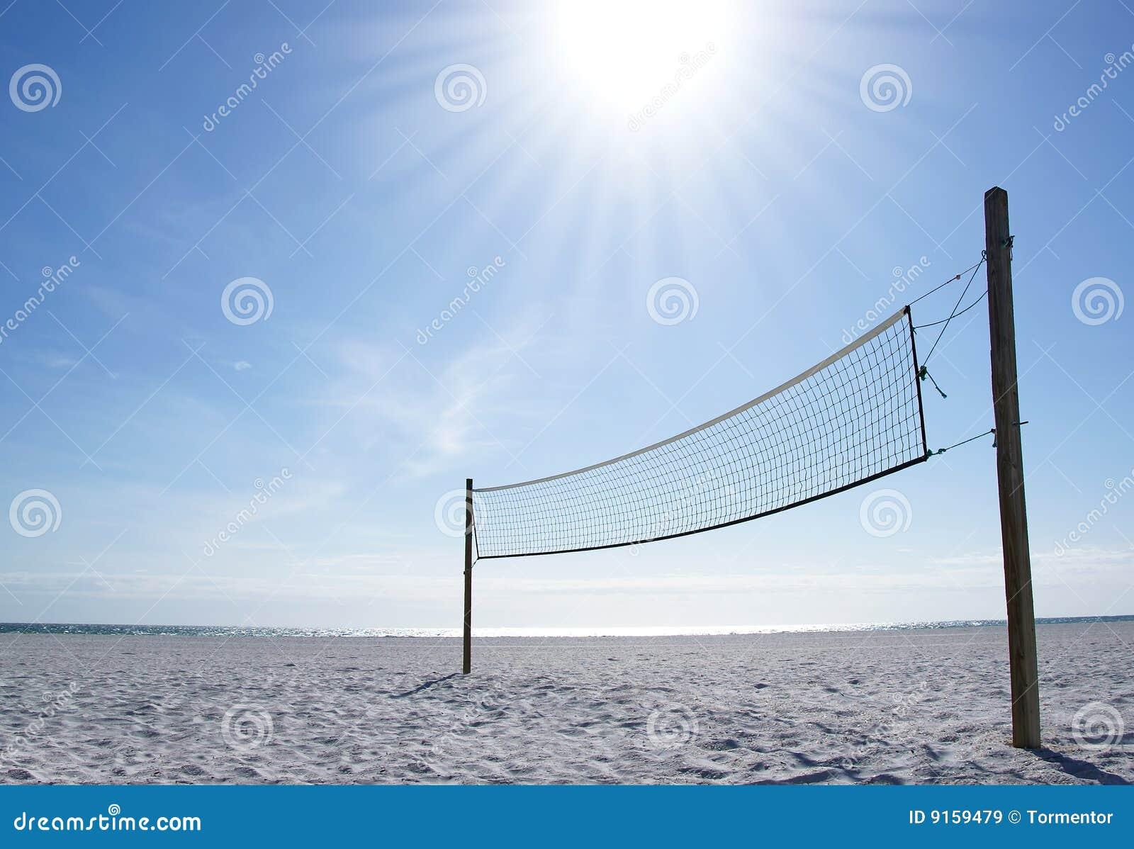 волейбол сети дня пляжа солнечный