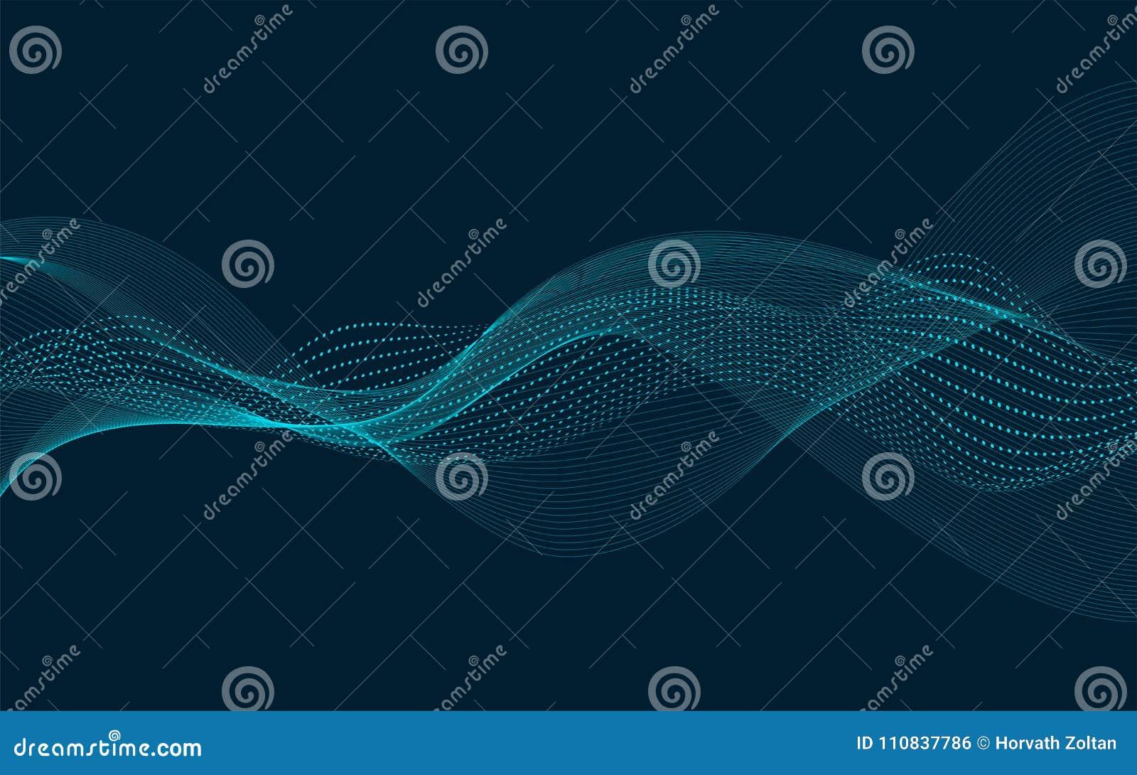 Волна Bacground вектора