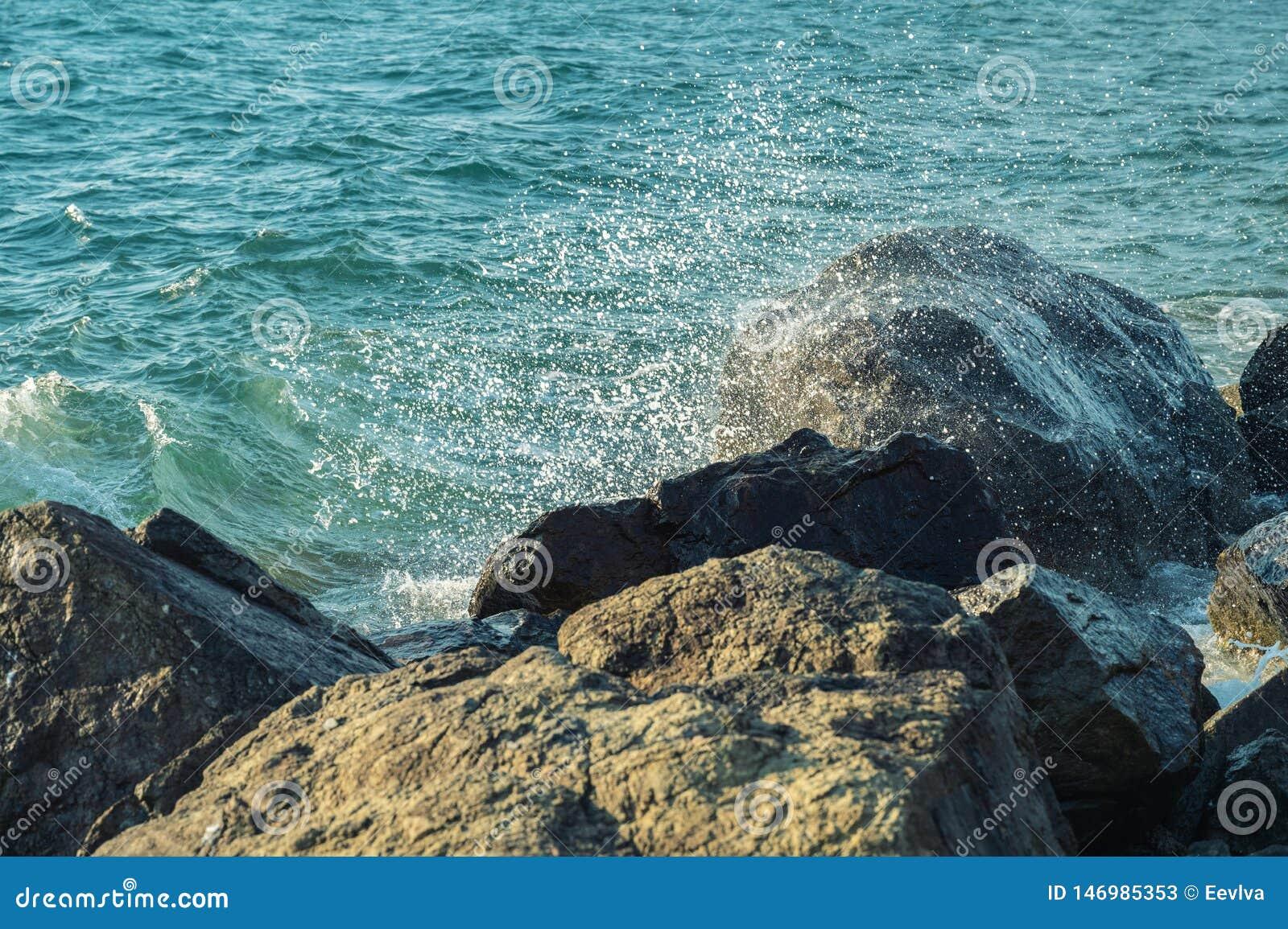 Волны на seashore