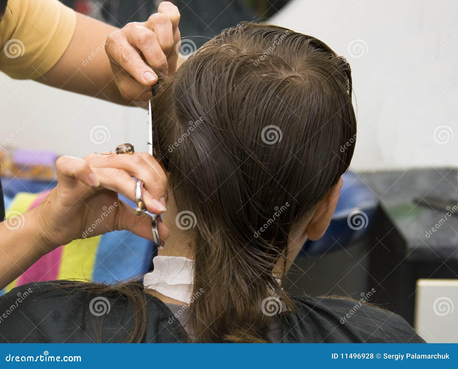 волосы отрезока мальчика