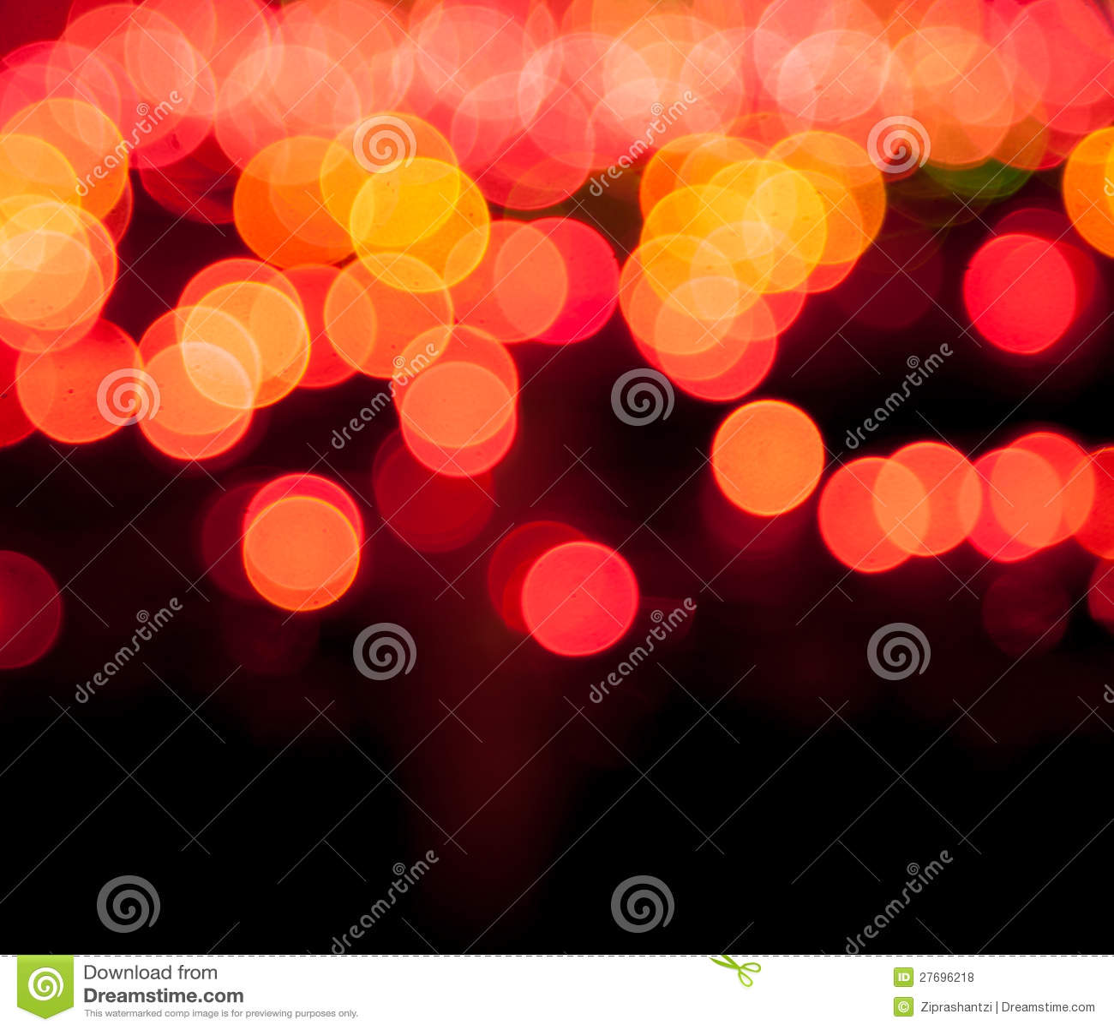 Волшебный sparkle, светлые многоточия и влияние bokeh