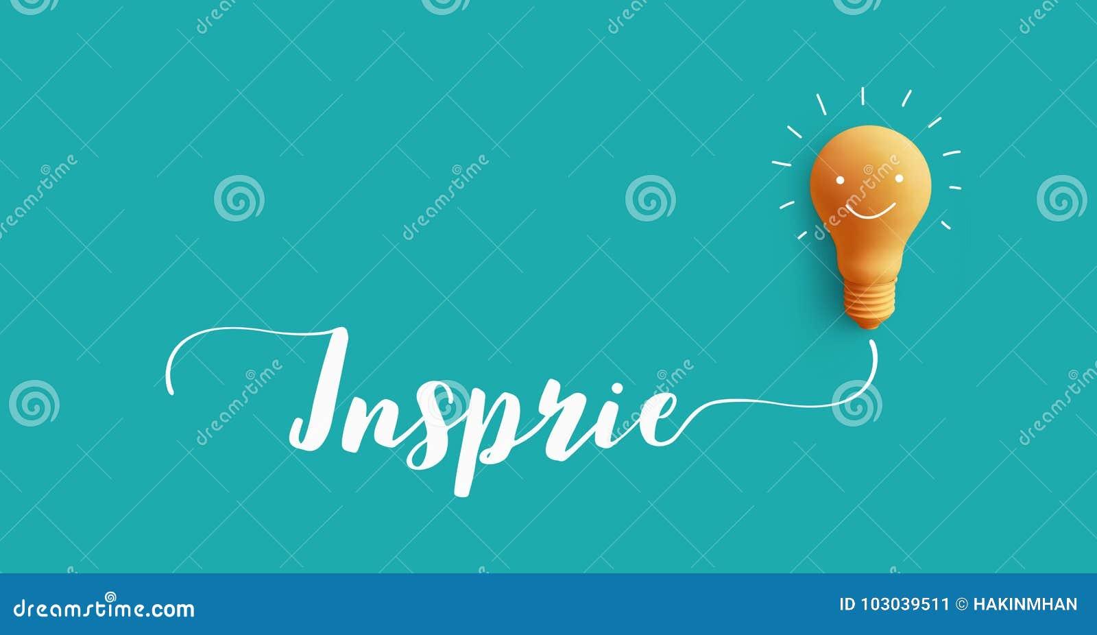 Воодушевите сообщение с электрической лампочкой идея творческих способностей дела