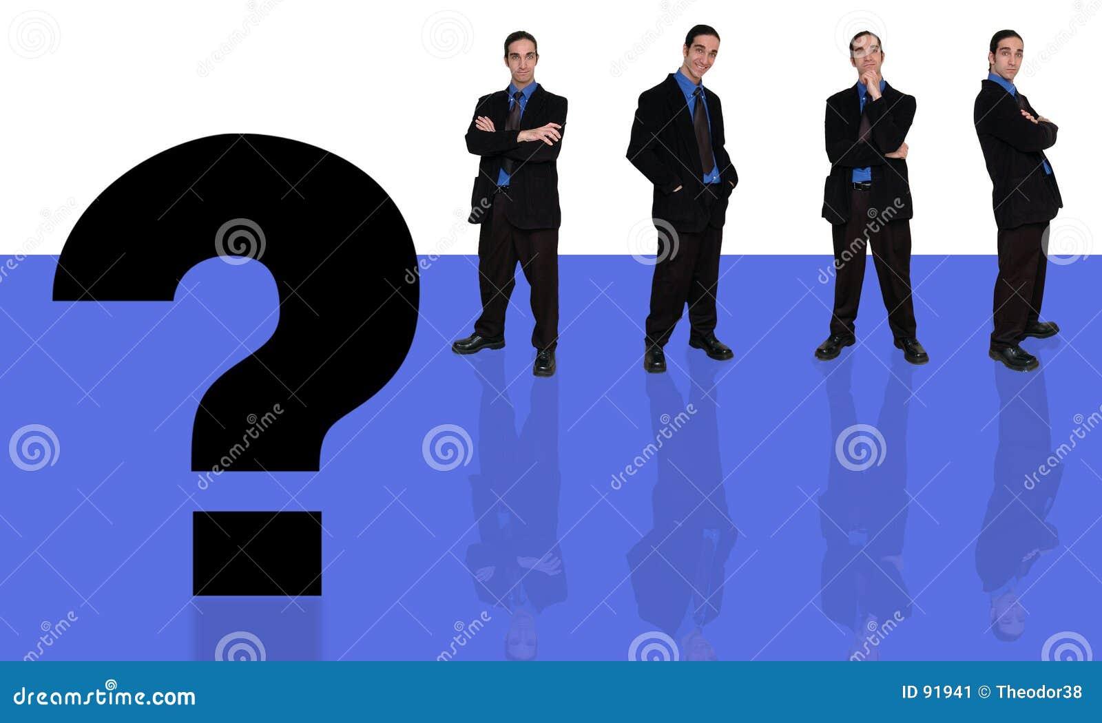 вопрос о 6 бизнесменов