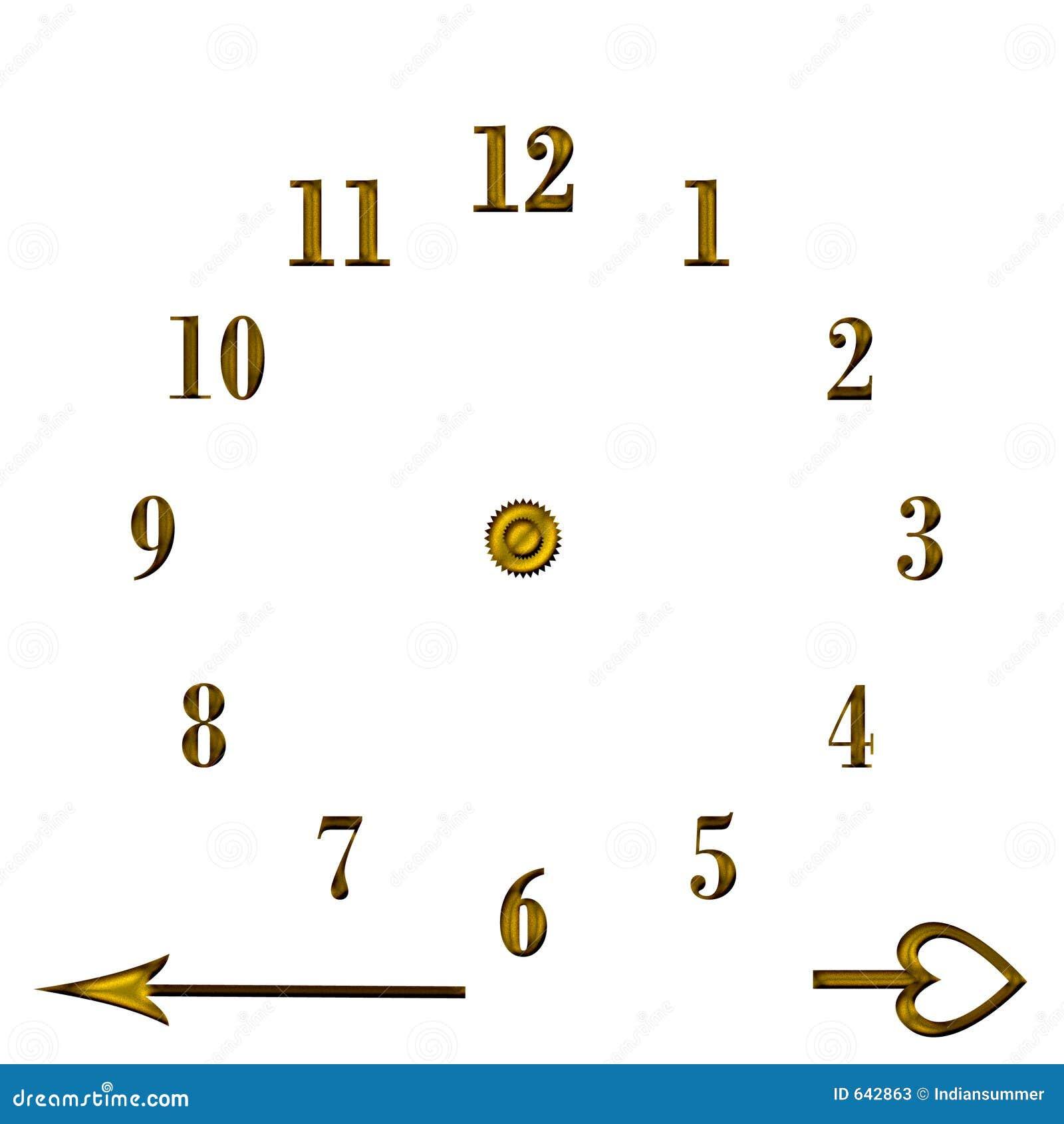 Download восковка часов иллюстрация штока. иллюстрации насчитывающей часы - 642863