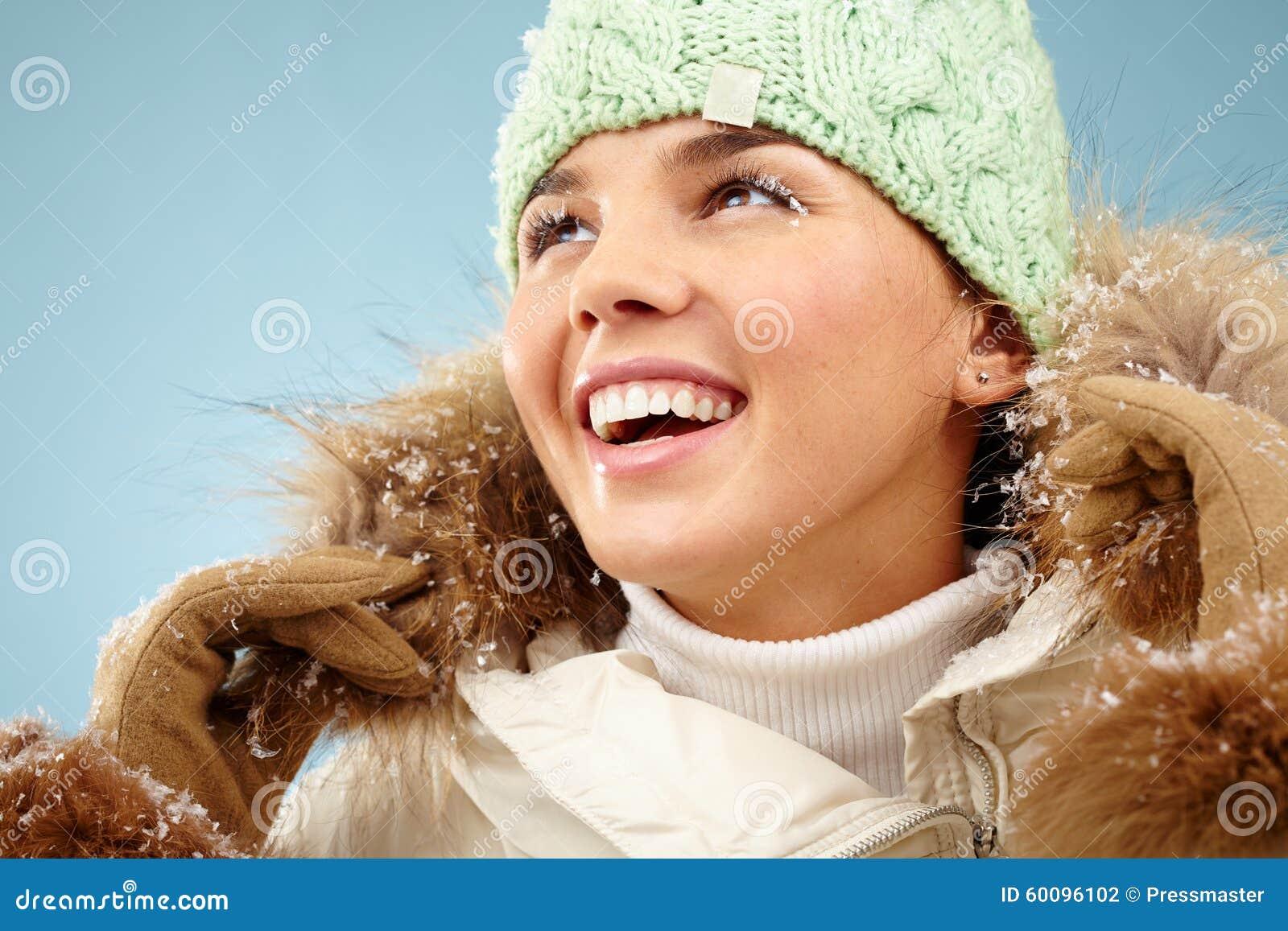 Восторженная женщина