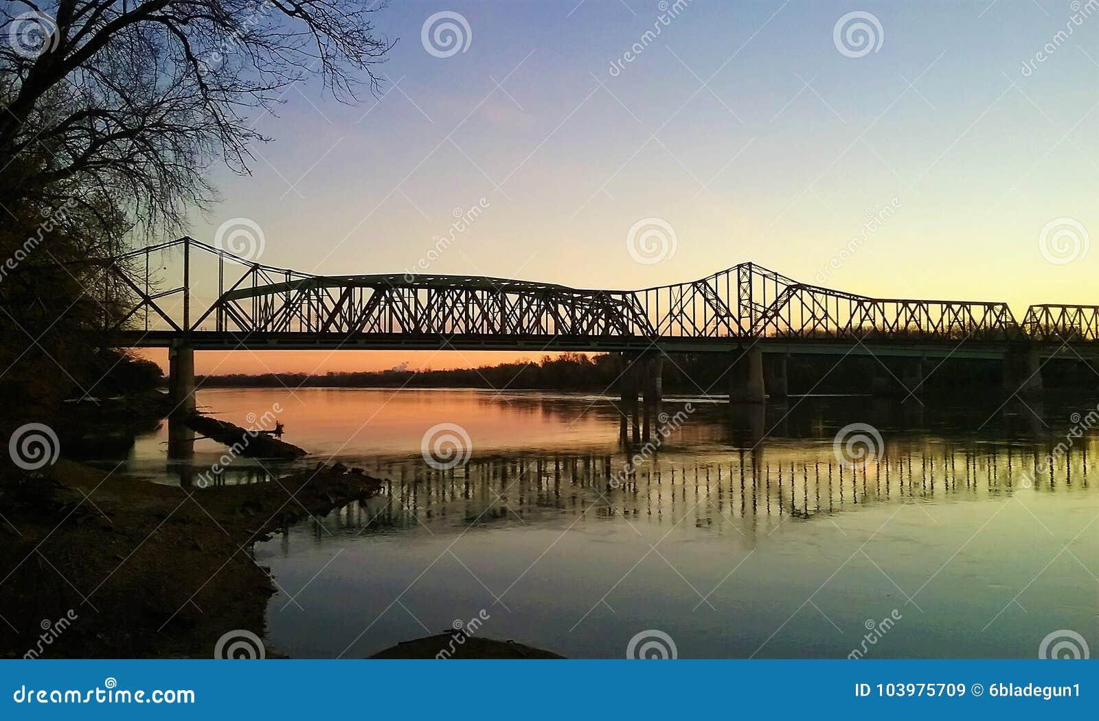 Восход солнца над Миссури