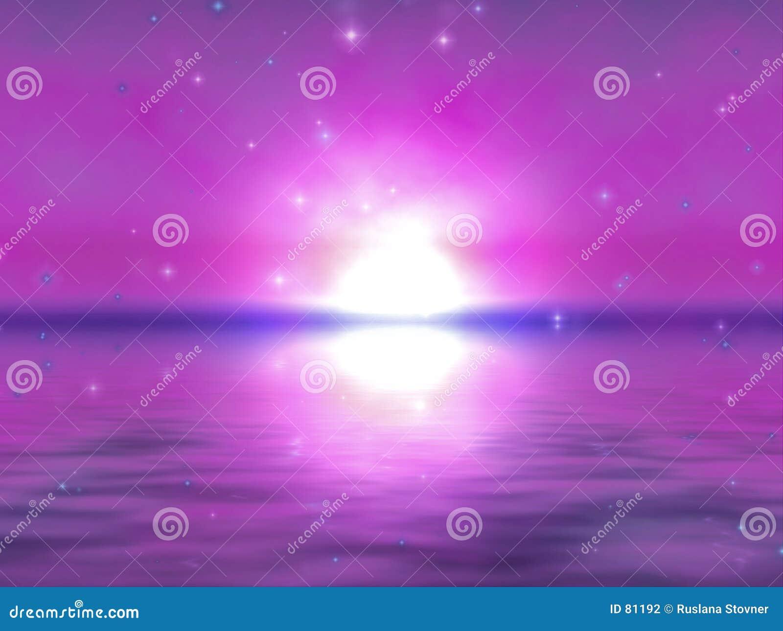 восход солнца отражений