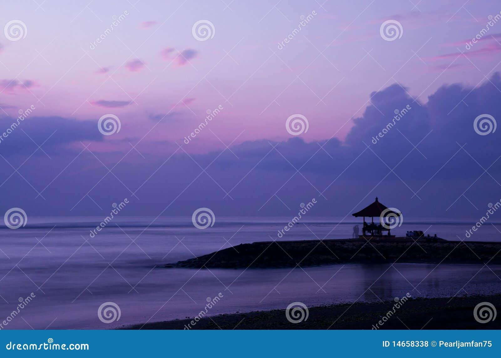 восход солнца bali