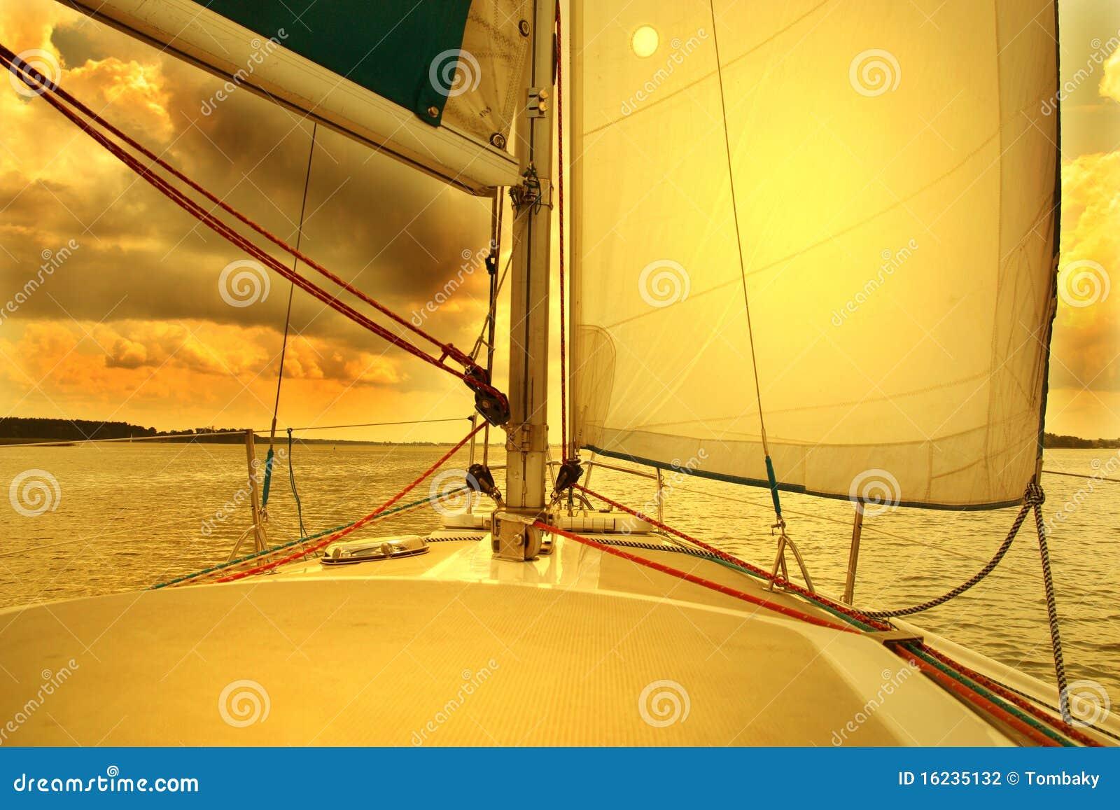 восход солнца sailing к