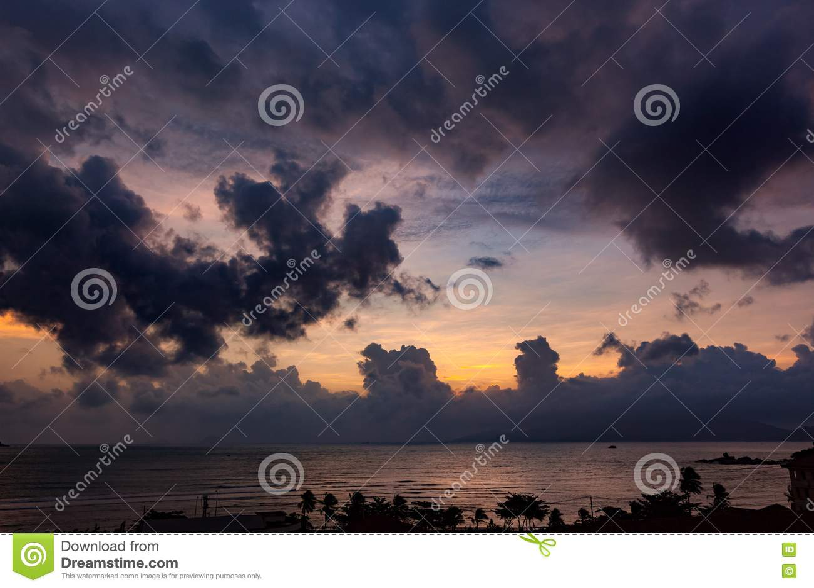 Восход солнца Вьетнам