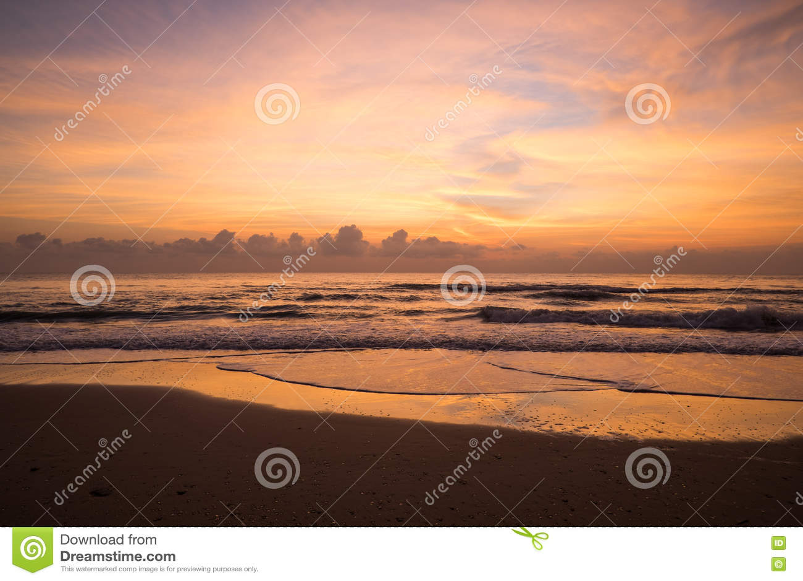 восход солнца пляжа красивейший