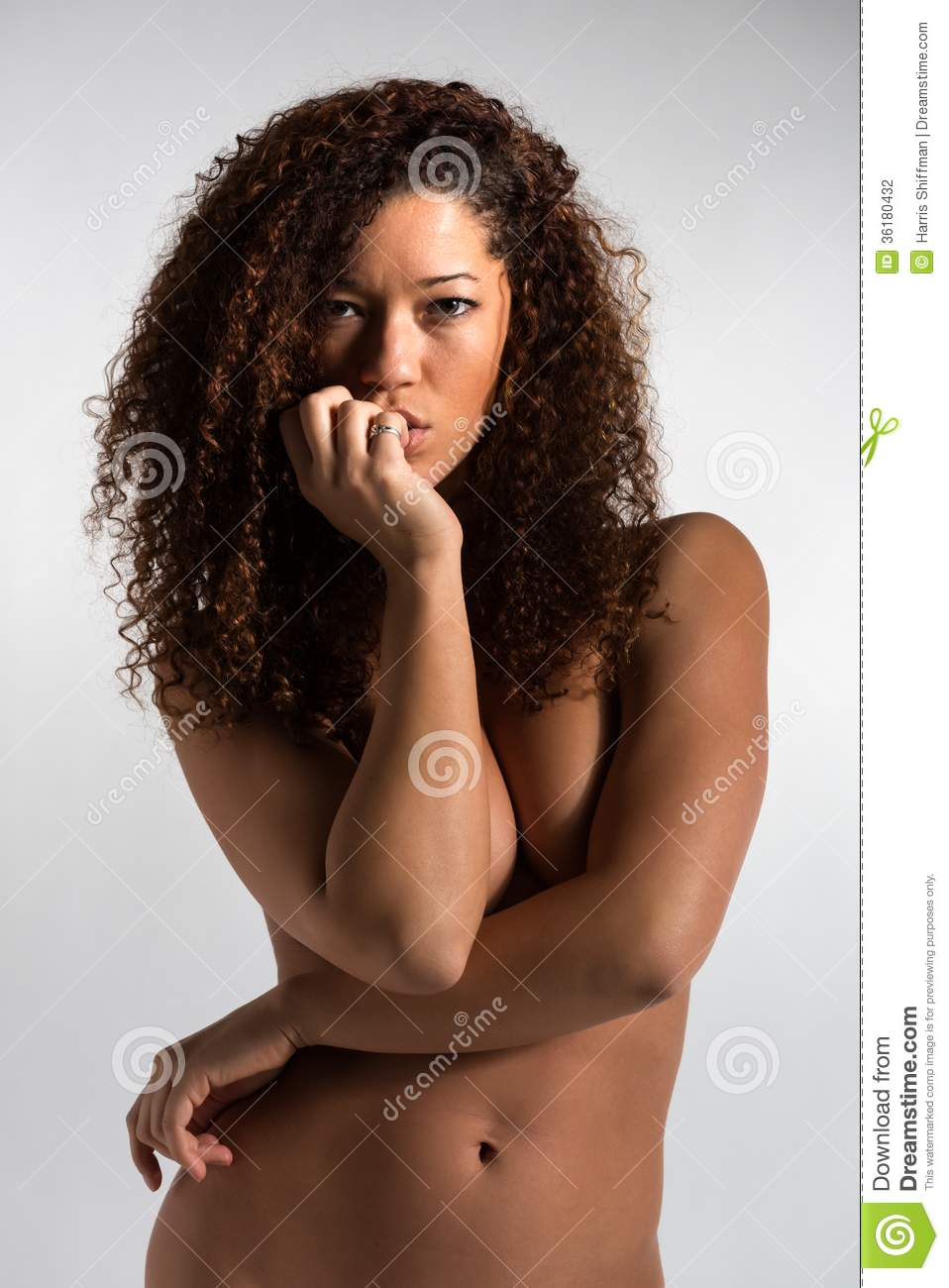 Stock photo portrait of a beautiful mixed race woman by kkgas