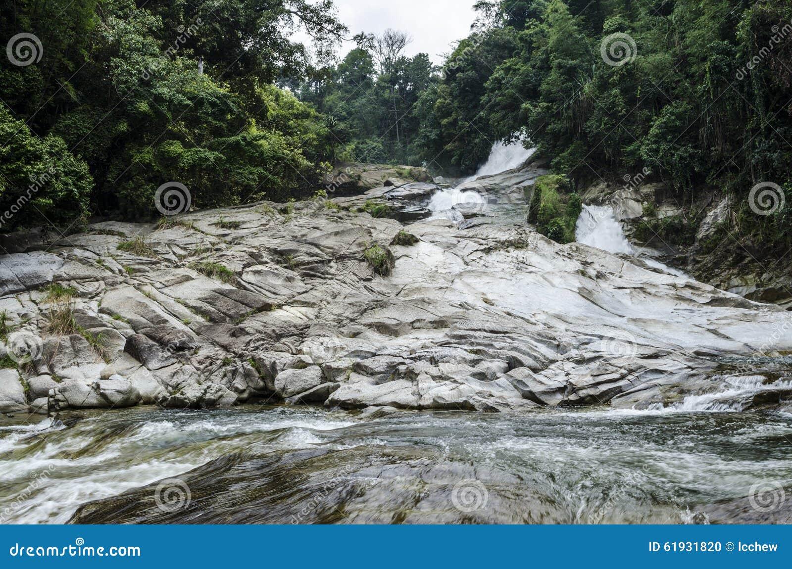 Водопад Chamang, Bentong, Малайзия