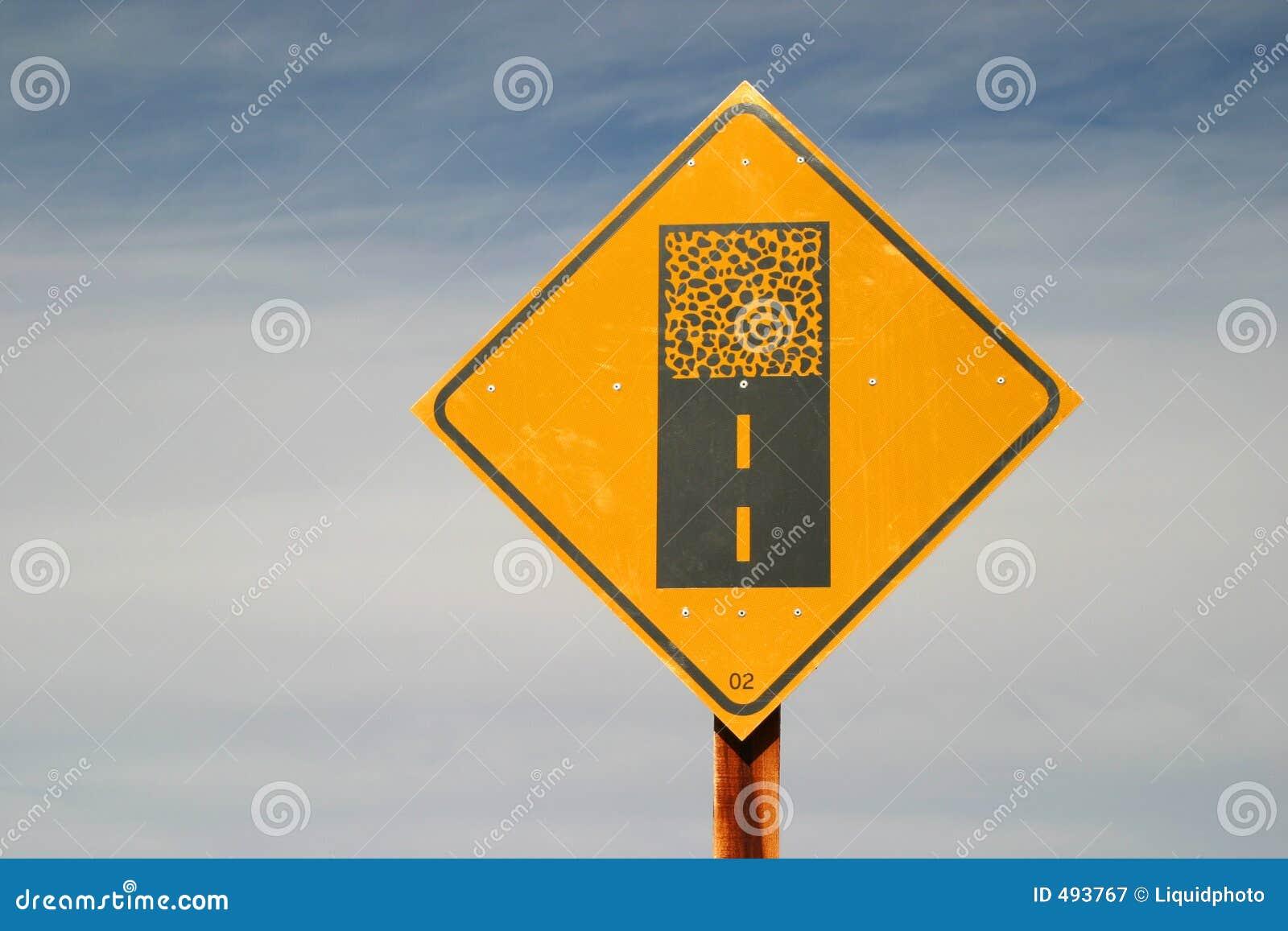 вперед концы вымостили дорожный знак