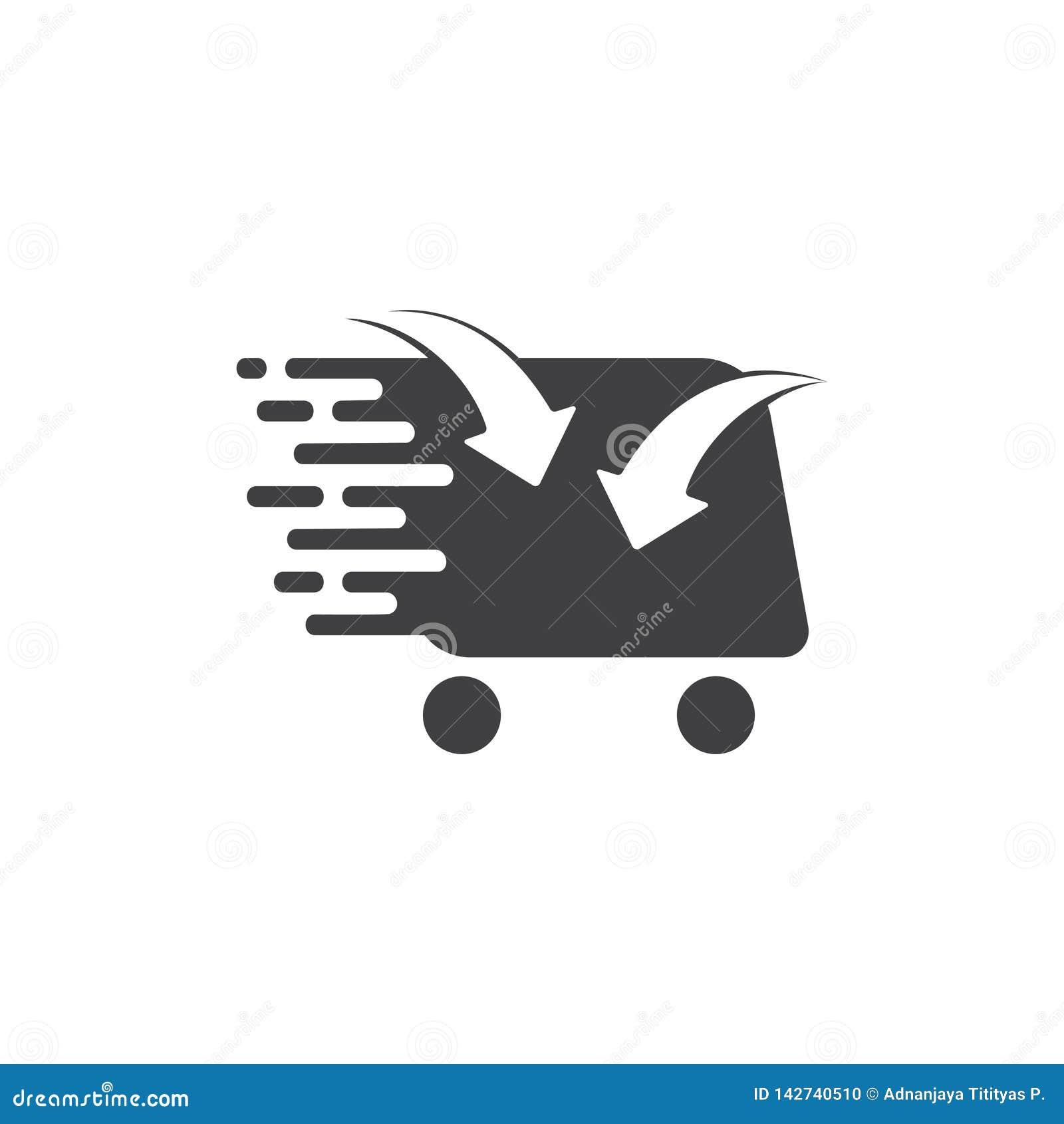 Впишите вектор символа диаграммы стрелки ходя по магазинам