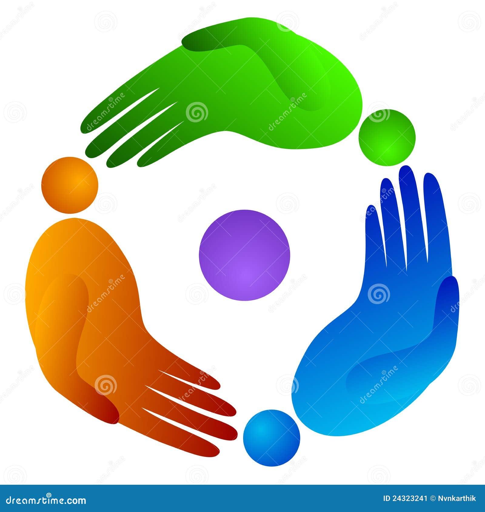 вращение людей руки