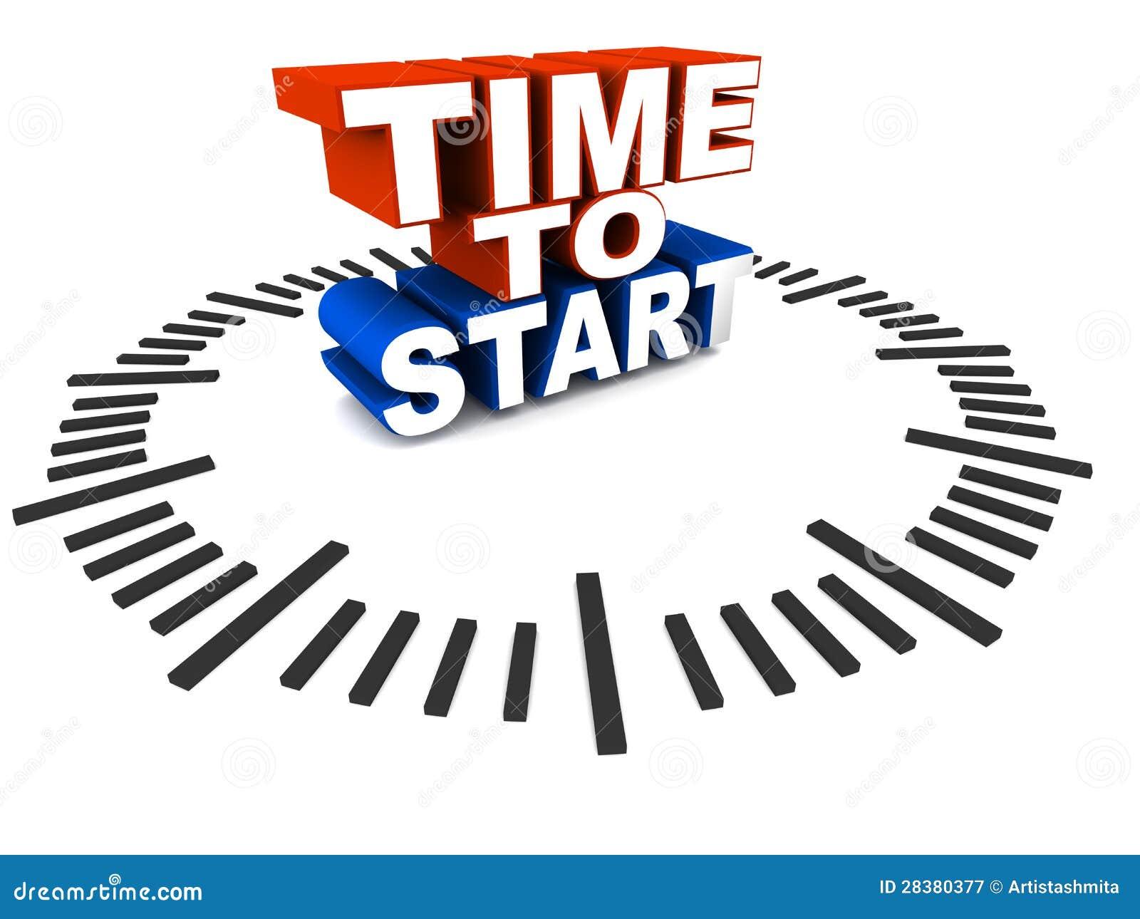 Время начать