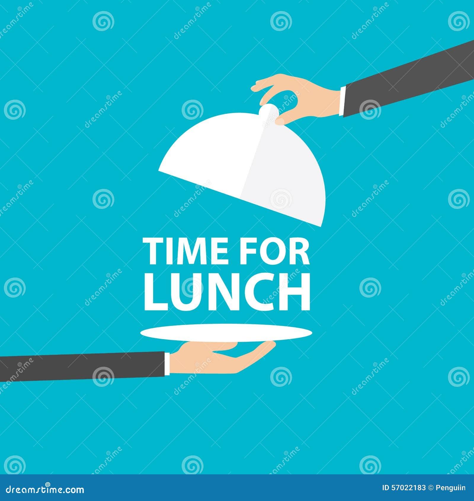 Время для обеда, вектора