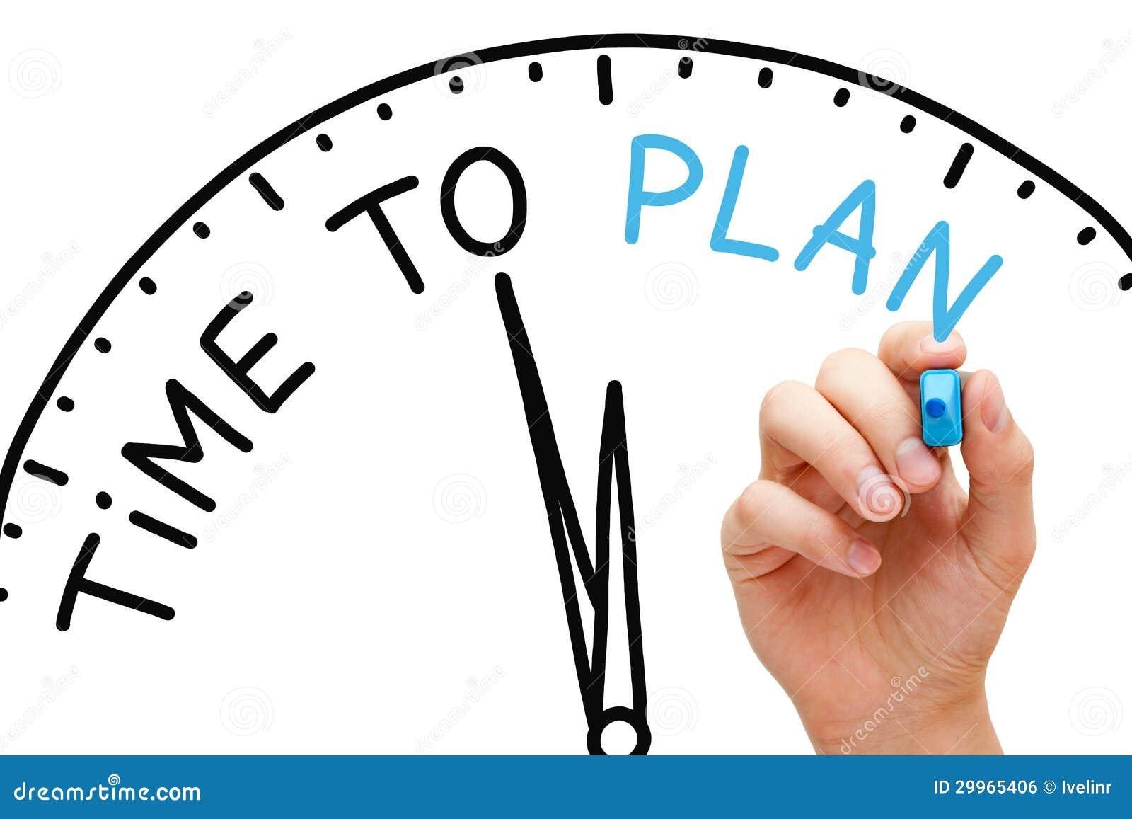Время запланировать