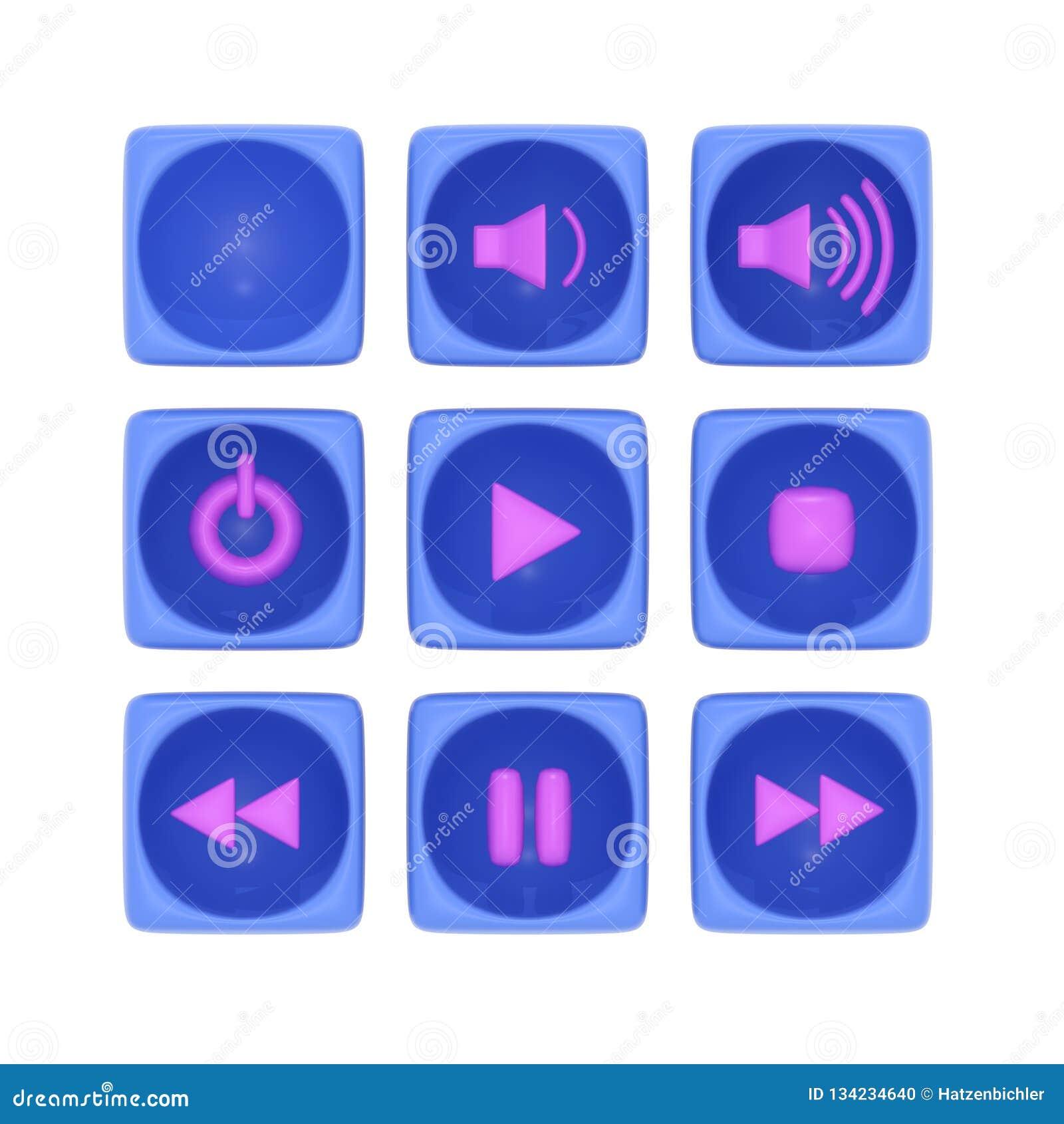 Все виды кнопок