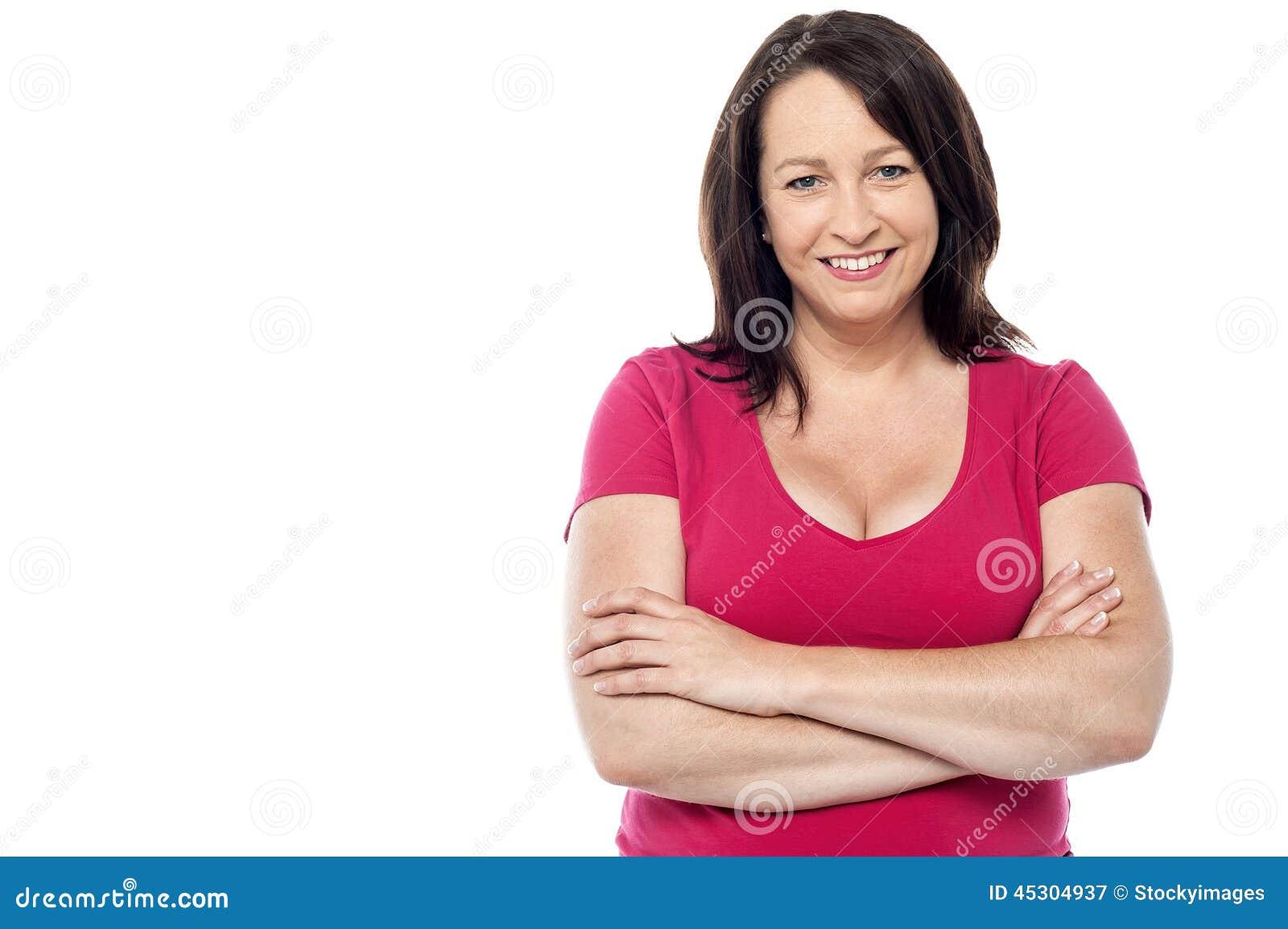 Вскользь портрет ся женщины постаретой серединой