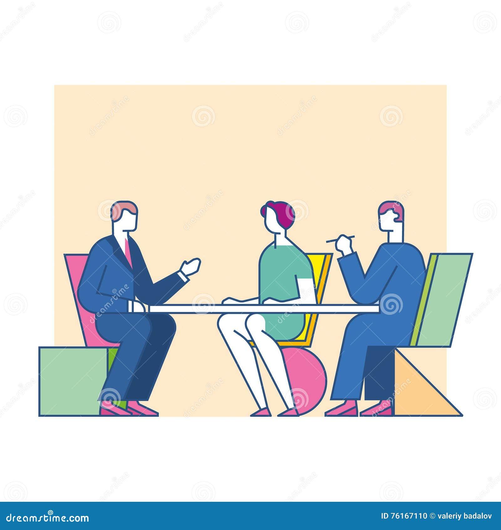 Встречать обсуждает на таблице