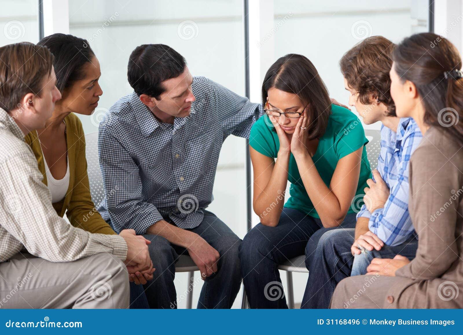 Встреча группа поддержкиы