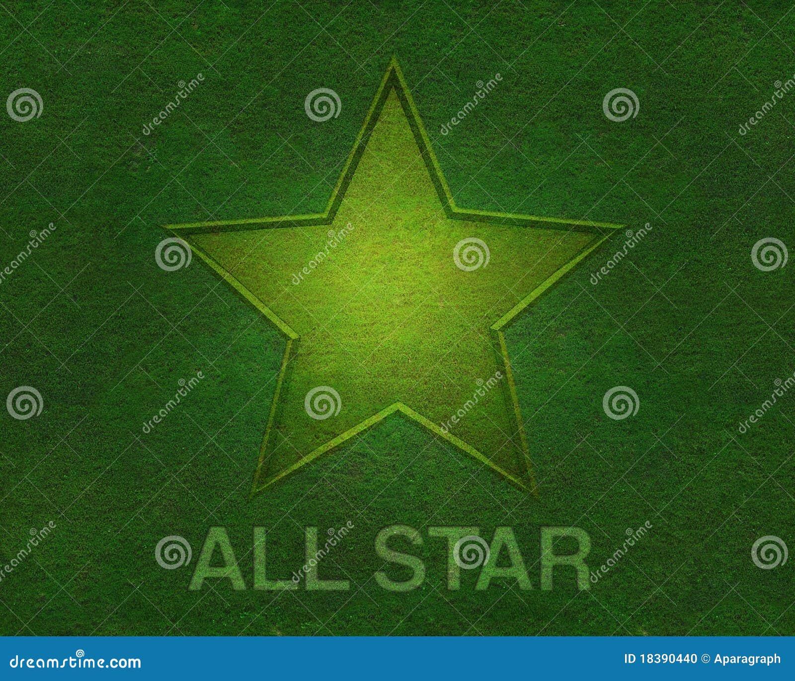 вся текстура звезды зеленого цвета травы