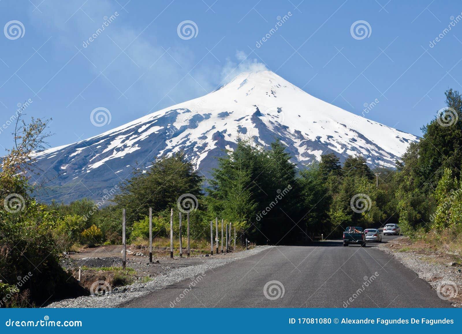 вулкан villarica Чили