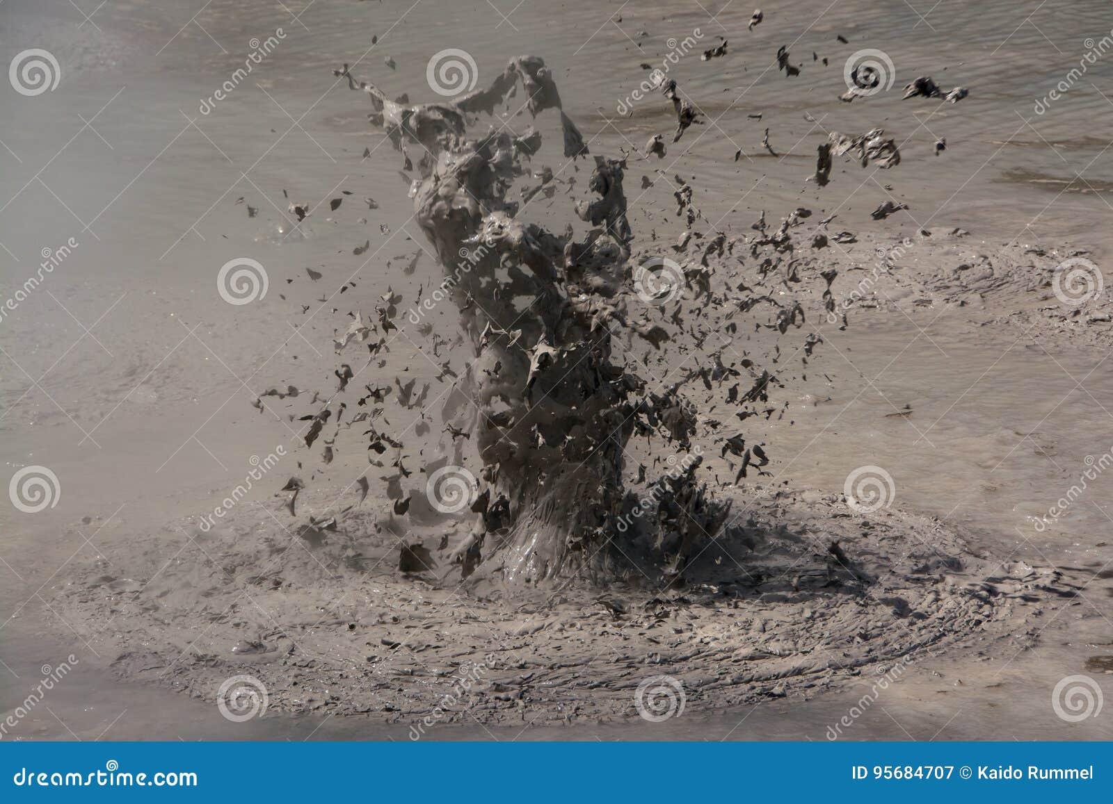 Вулкан грязи