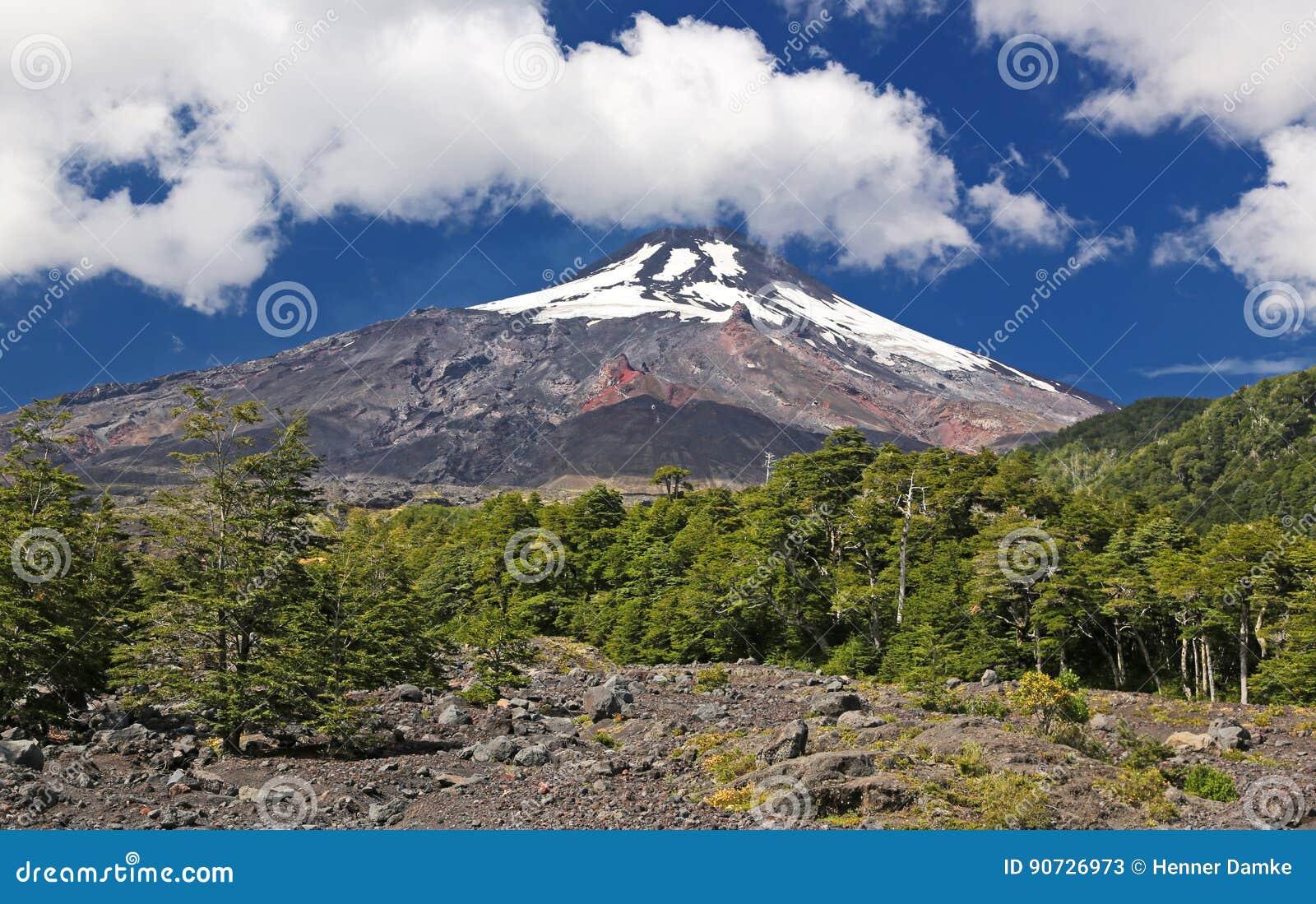 Вулкан Villarrica - Чили