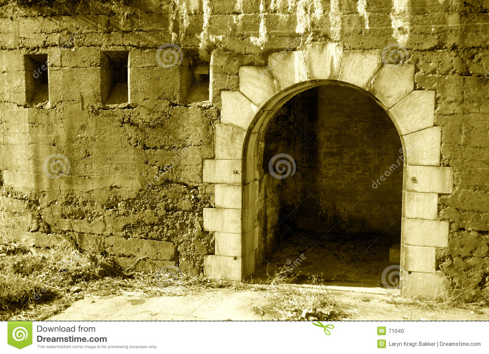 вход замока