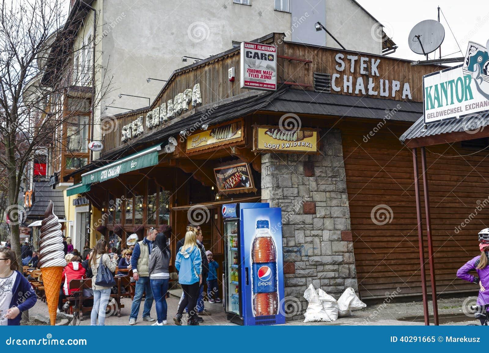 Вход к ресторану Stek Chalupa