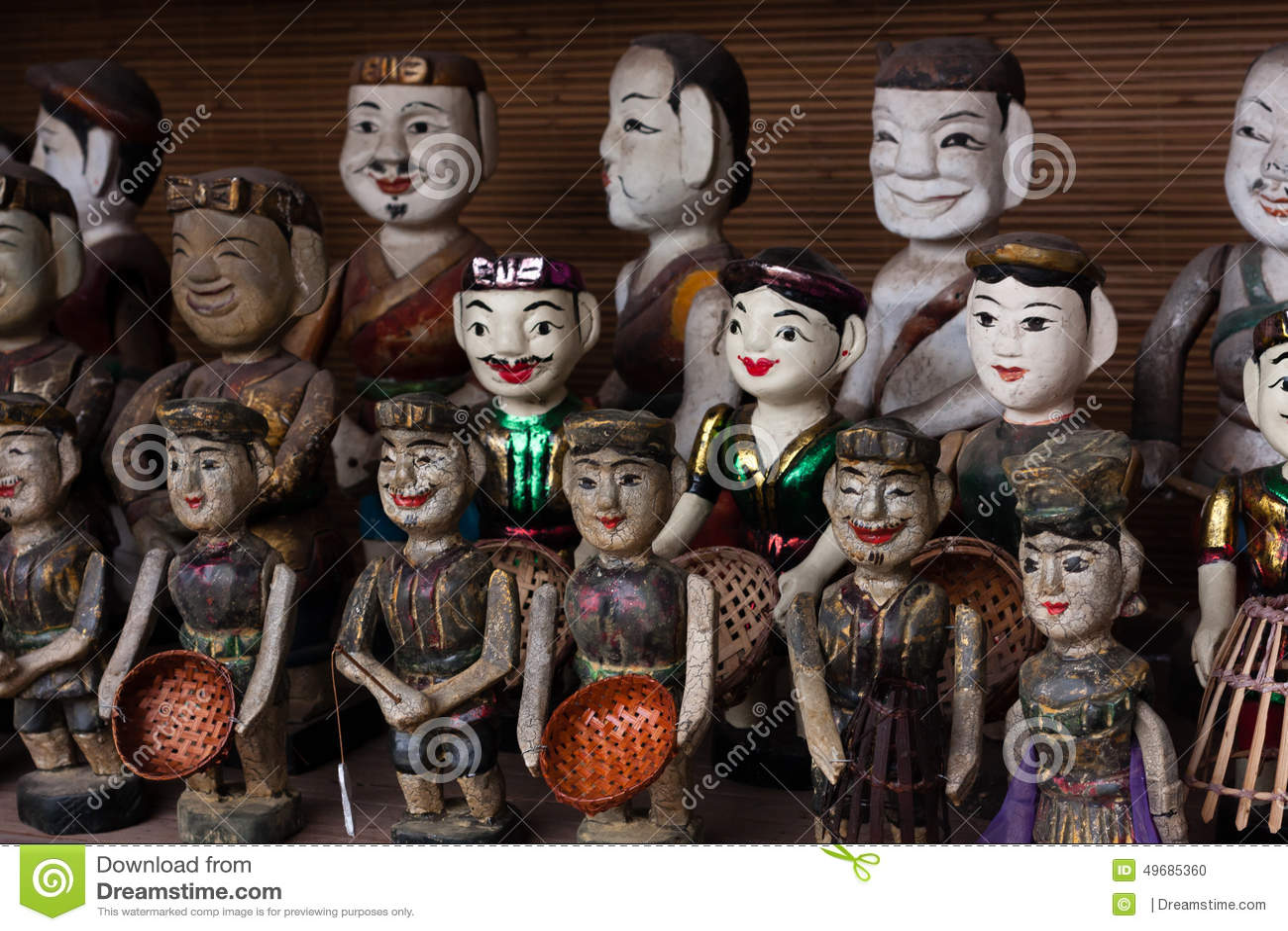 Въетнамские марионетки wter