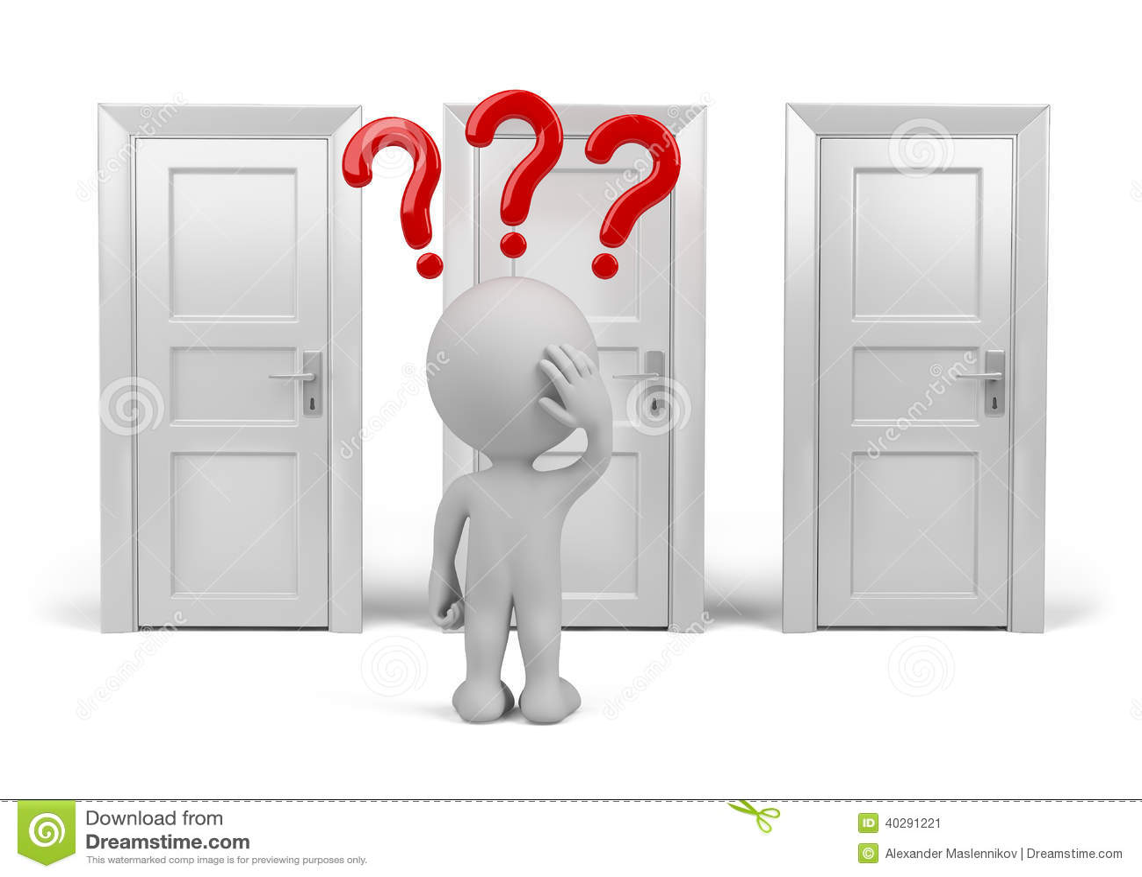 Выбирать двери