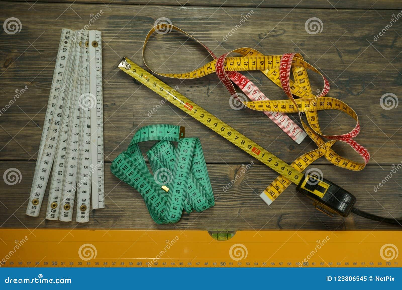 Выбор различных измеряя инструментов