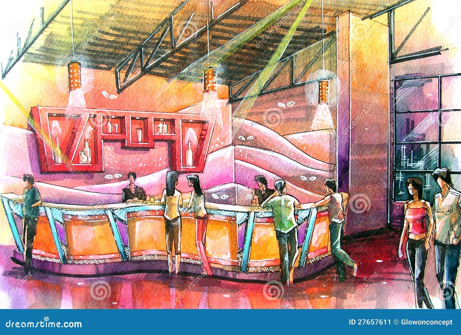 Картина для ночного клуба мужской клуб ангелы в москве