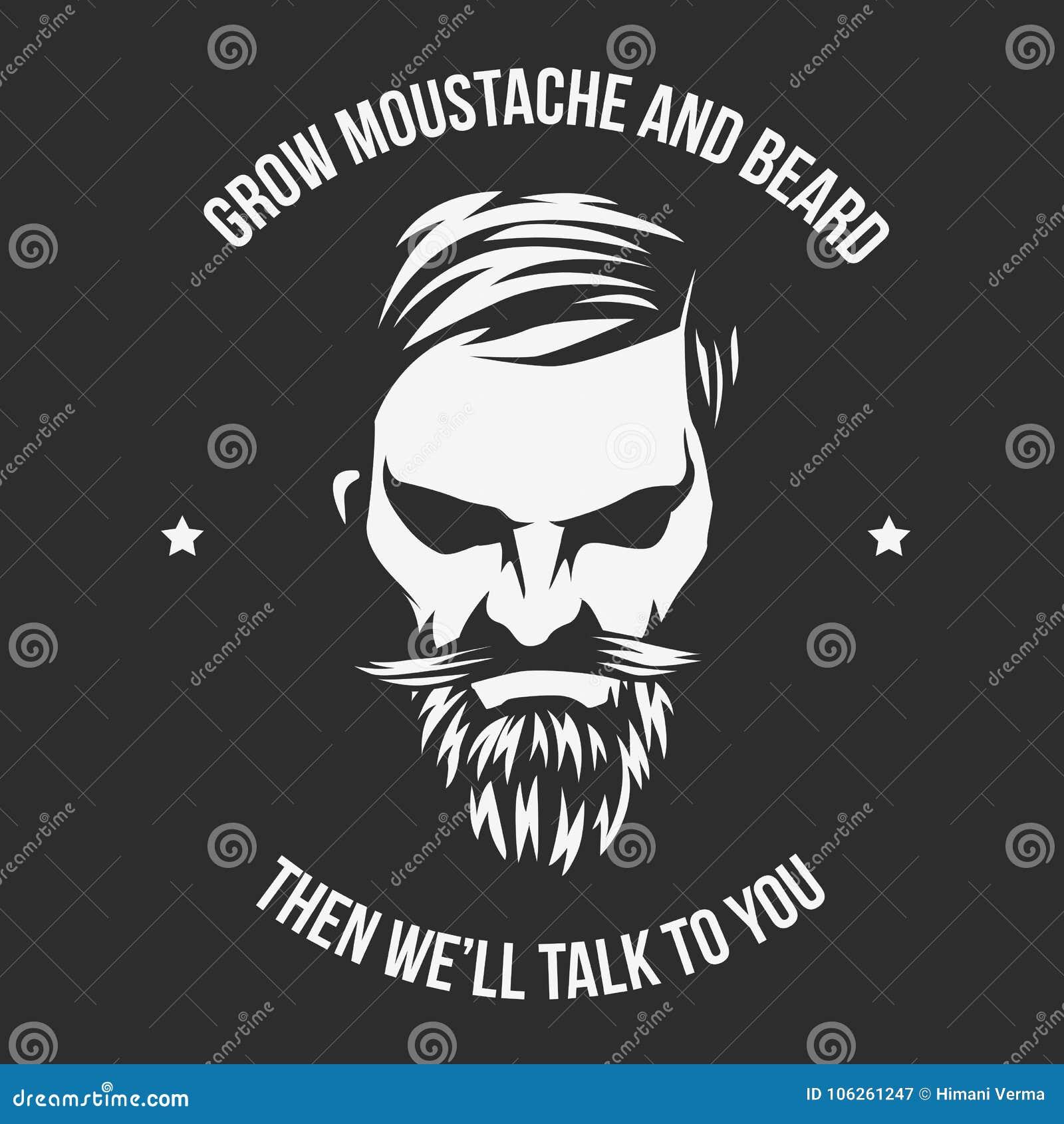 Вырастите усик и борода и человеком