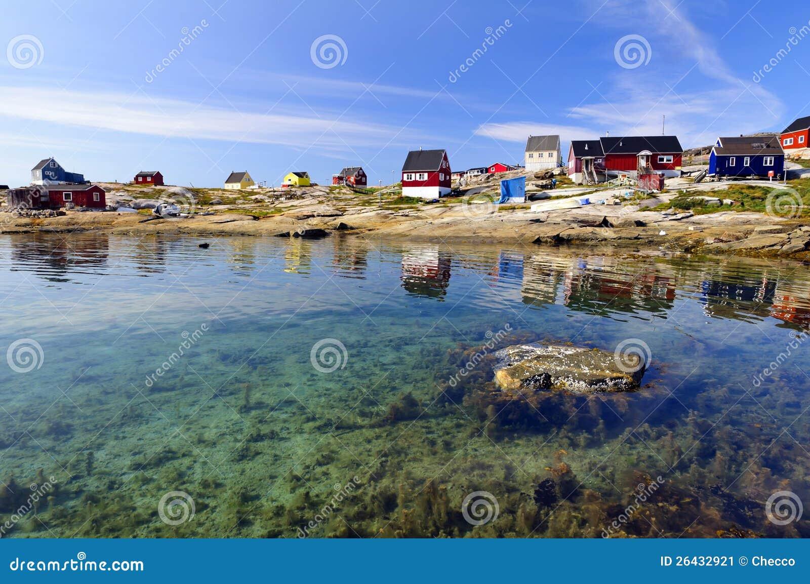 Выселок Oqaatsut (Rodebay) в Гренландии
