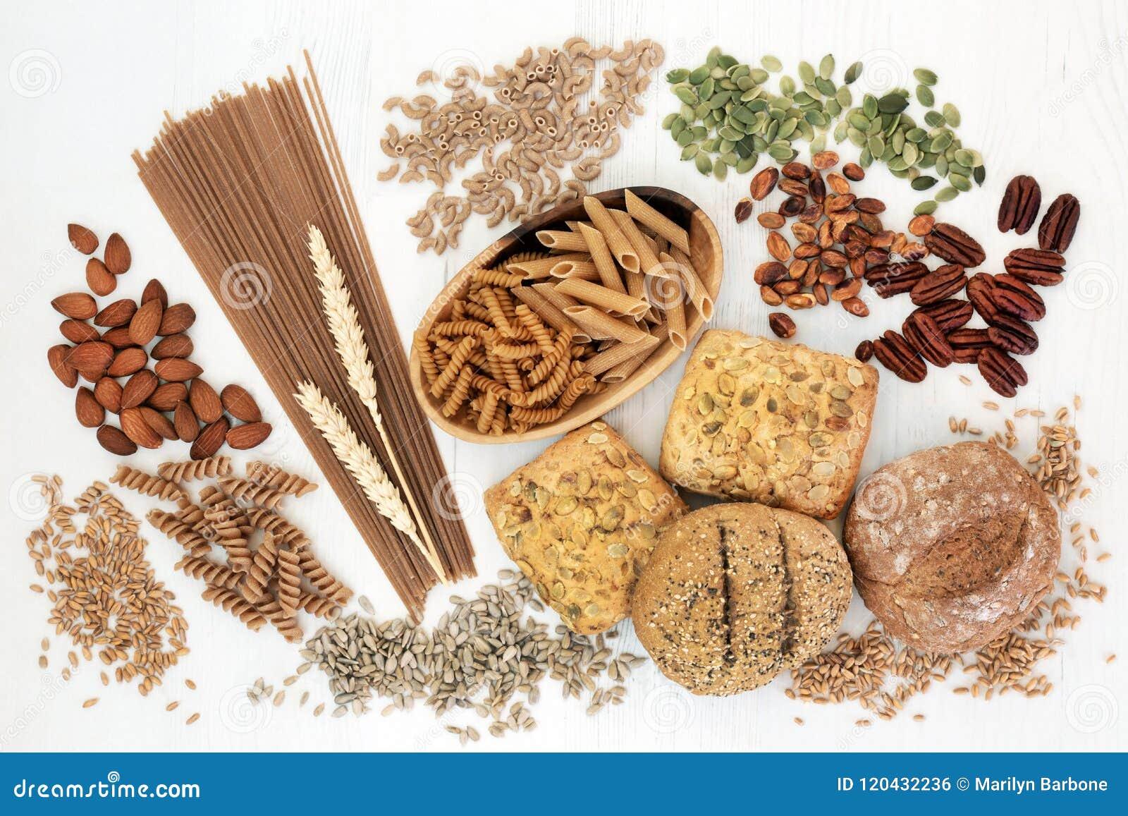 Высокая здоровая еда волокна