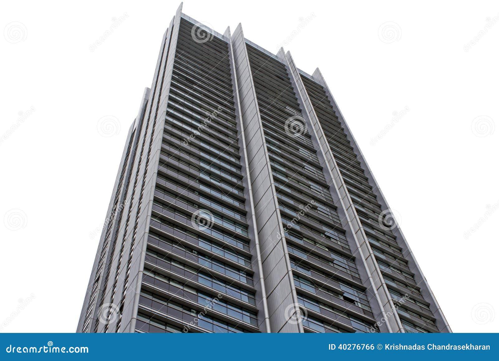 Высокий подъем buidling в городе