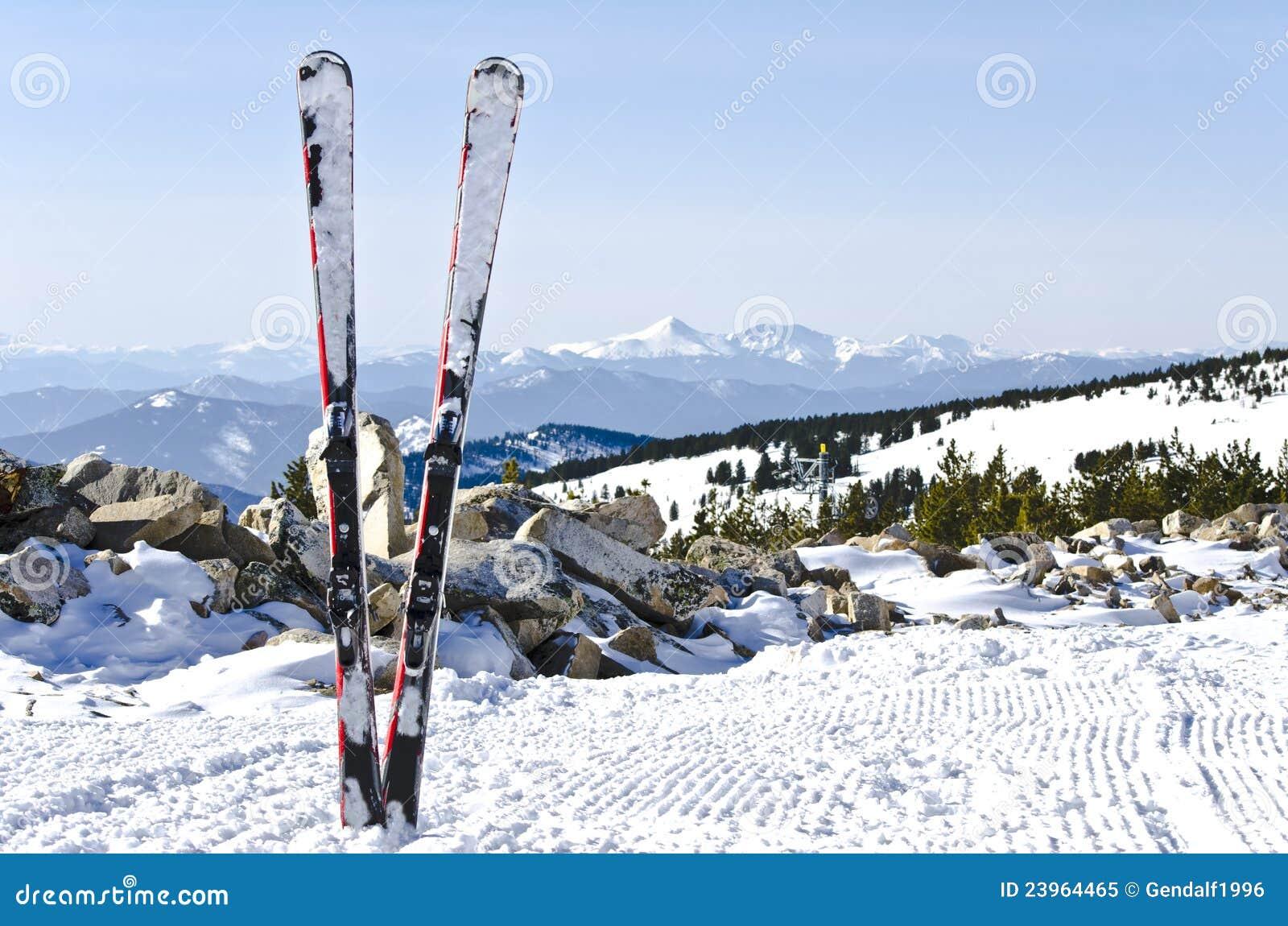 высокогорное катание на лыжах